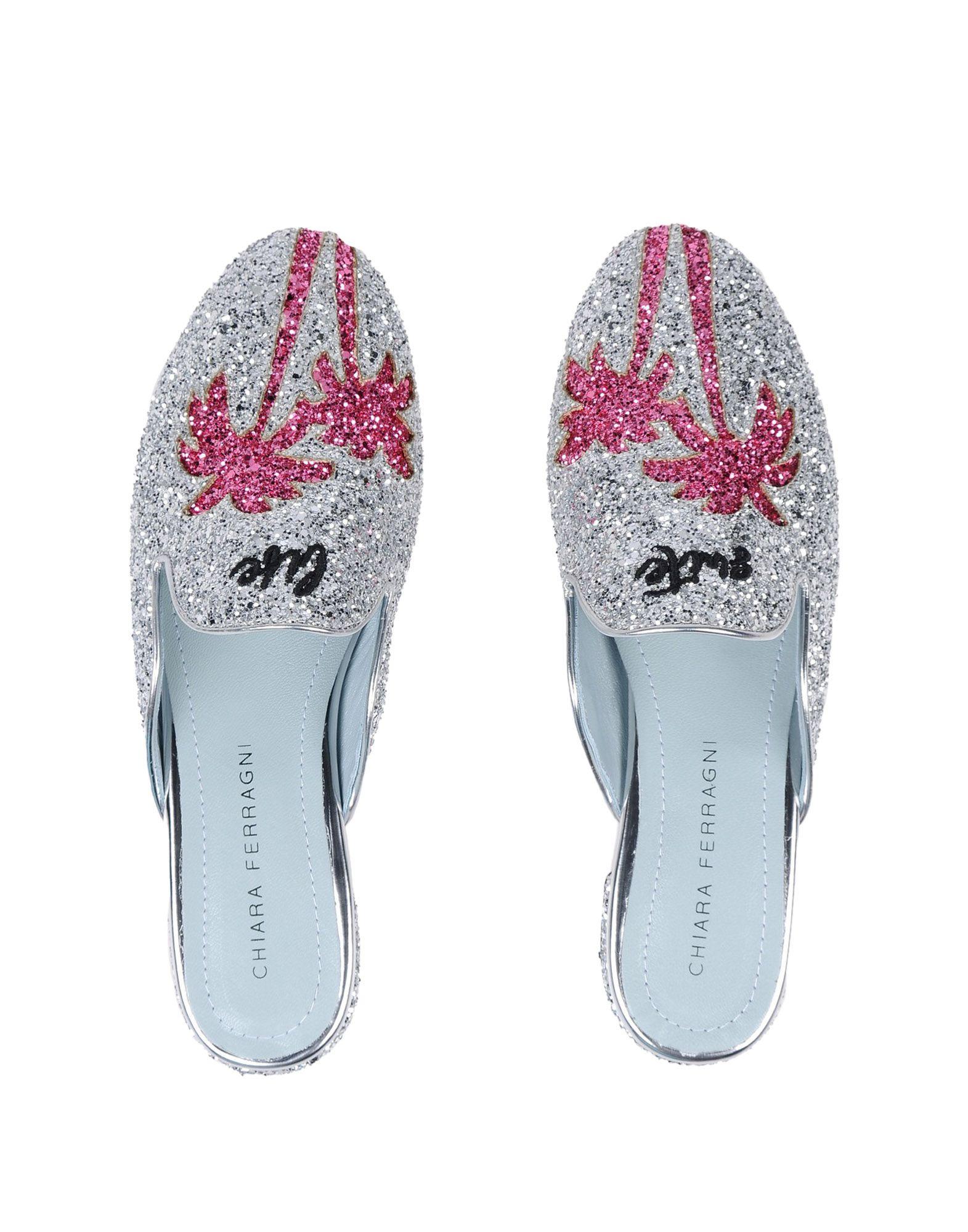 Chiara Ferragni Pantoletten Damen strapazierfähige  11531059ISGut aussehende strapazierfähige Damen Schuhe 473226