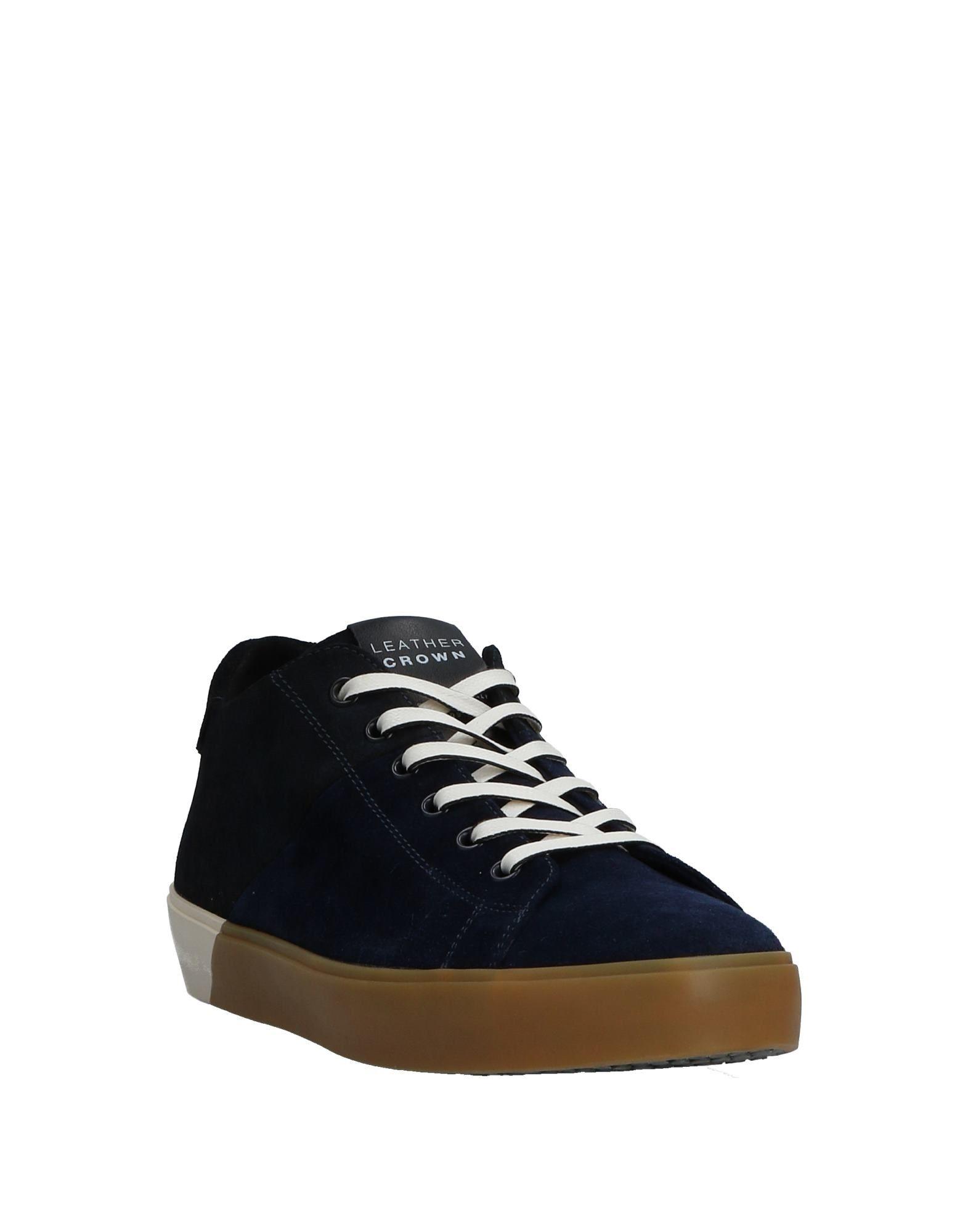 Leather Crown Herren Sneakers Herren Crown  11531737ND 0fa8d8