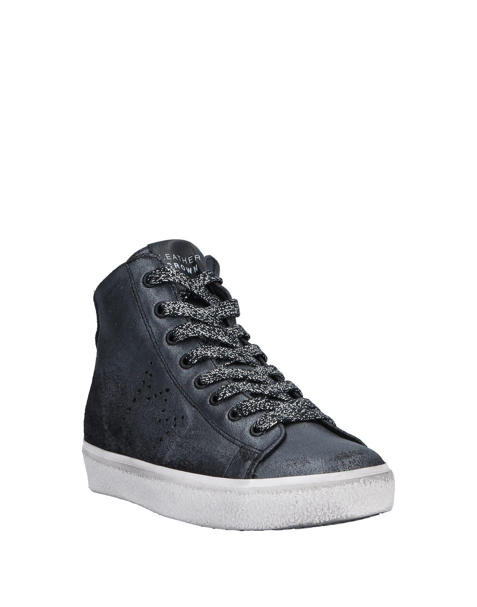 Stilvolle Sneakers billige Schuhe Leder Crown Sneakers Stilvolle Damen  11531766BV 231bdc