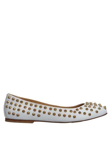 GIACOMORELLI Ballet Flats in White