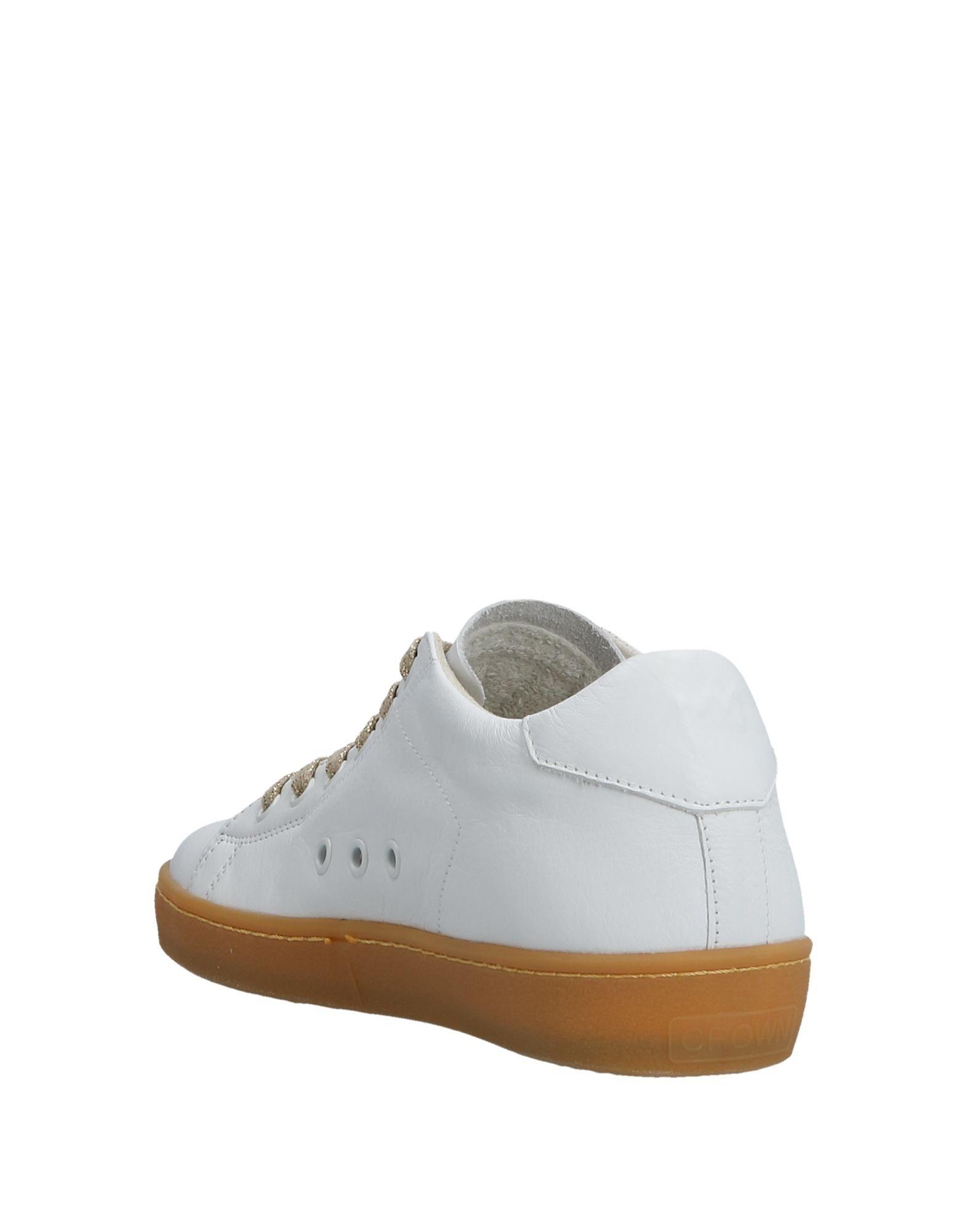 Gut Crown um billige Schuhe zu tragenLeather Crown Gut Sneakers Damen  11531799OT a00a6e
