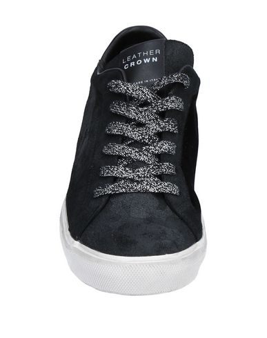 Leather Crown Sneakers Sneakers Noir Leather Noir Crown Noir Crown Sneakers Leather XdpnqX