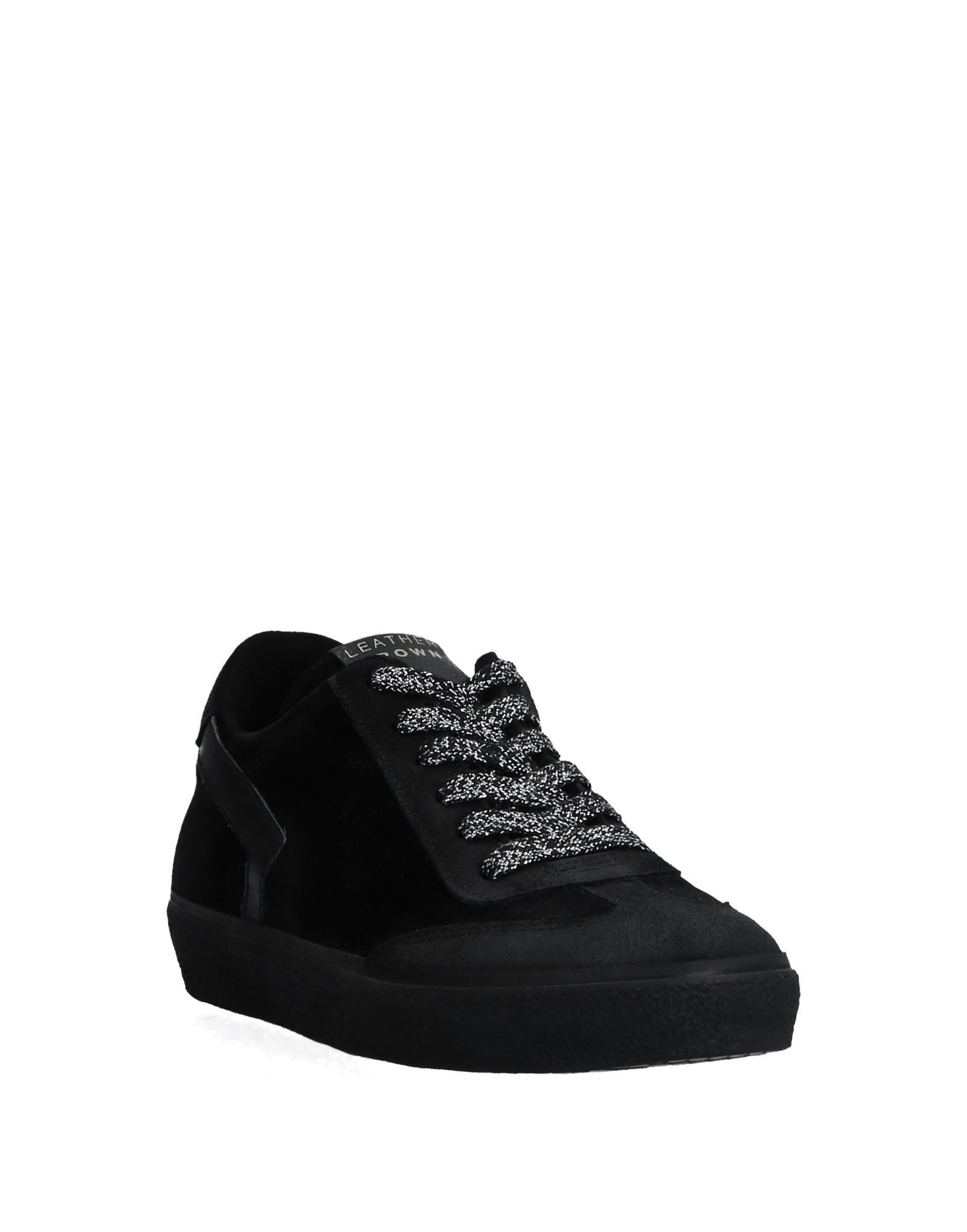 Stilvolle billige Schuhe Leather Crown Crown Crown Sneakers Damen  11531844KA 950d73