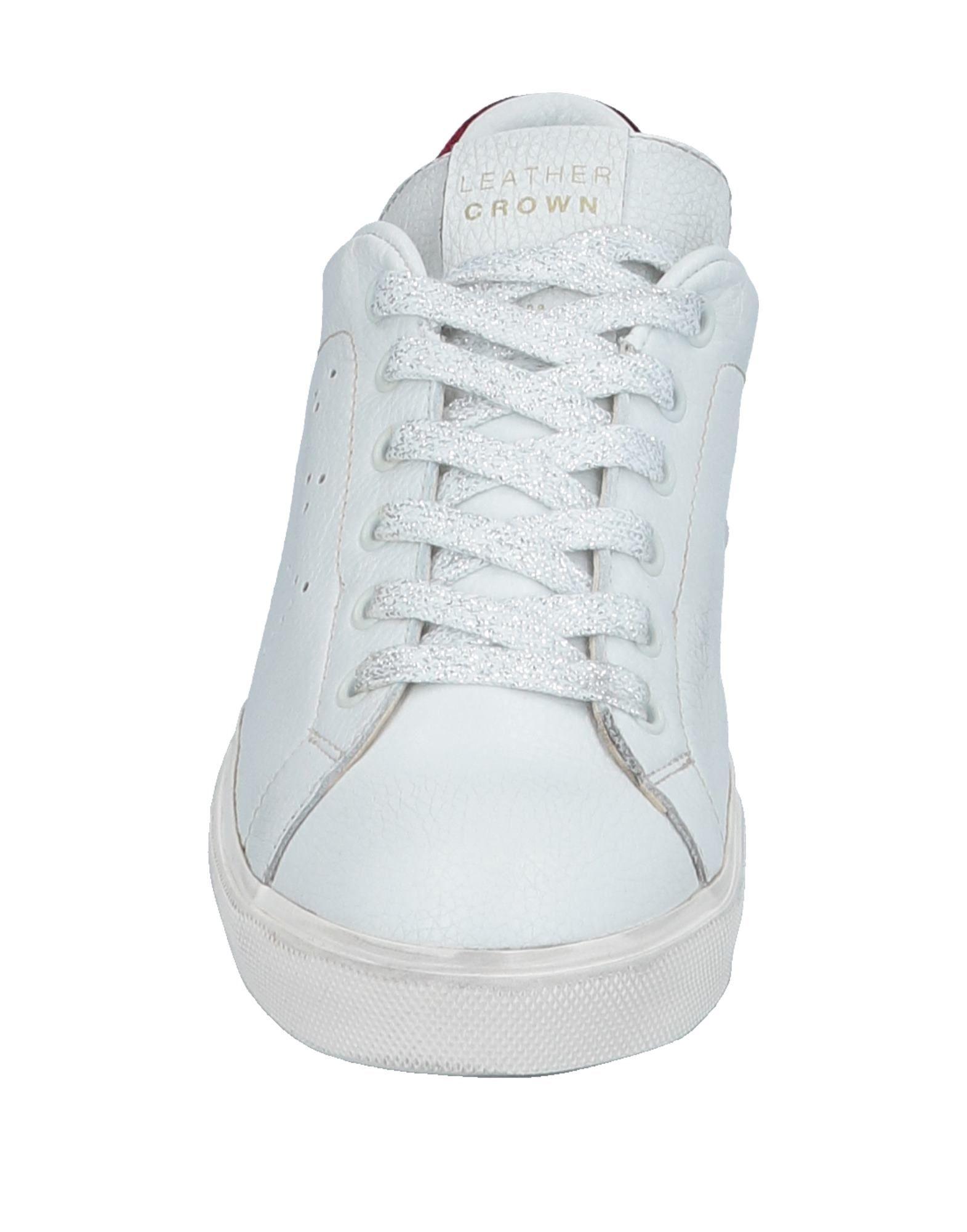Stilvolle billige Damen Schuhe Leather Crown Sneakers Damen billige  11531853MS 51ab51