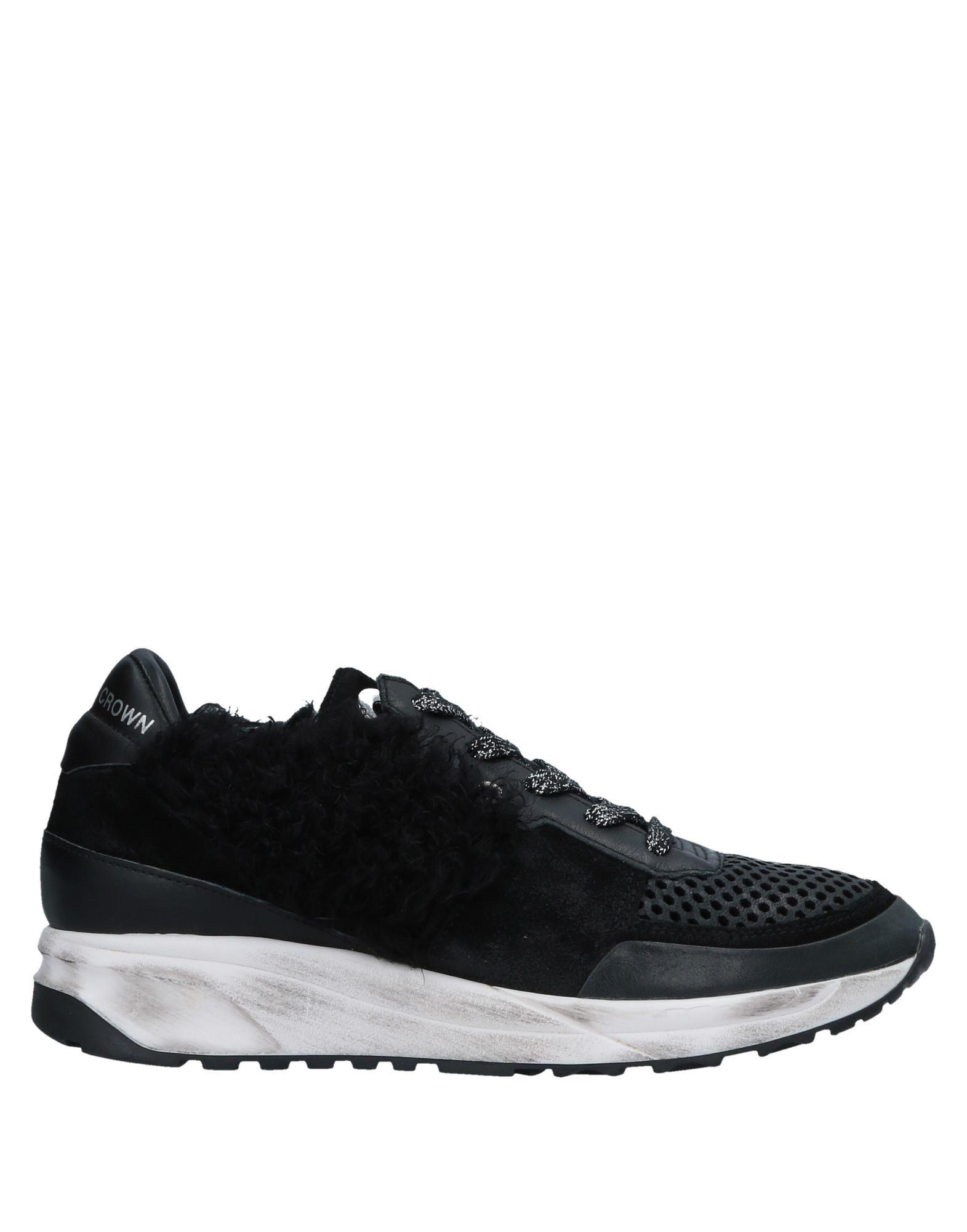 Gut tragenLeder um billige Schuhe zu tragenLeder Gut Crown Sneakers Damen  11531860KD ef13c3