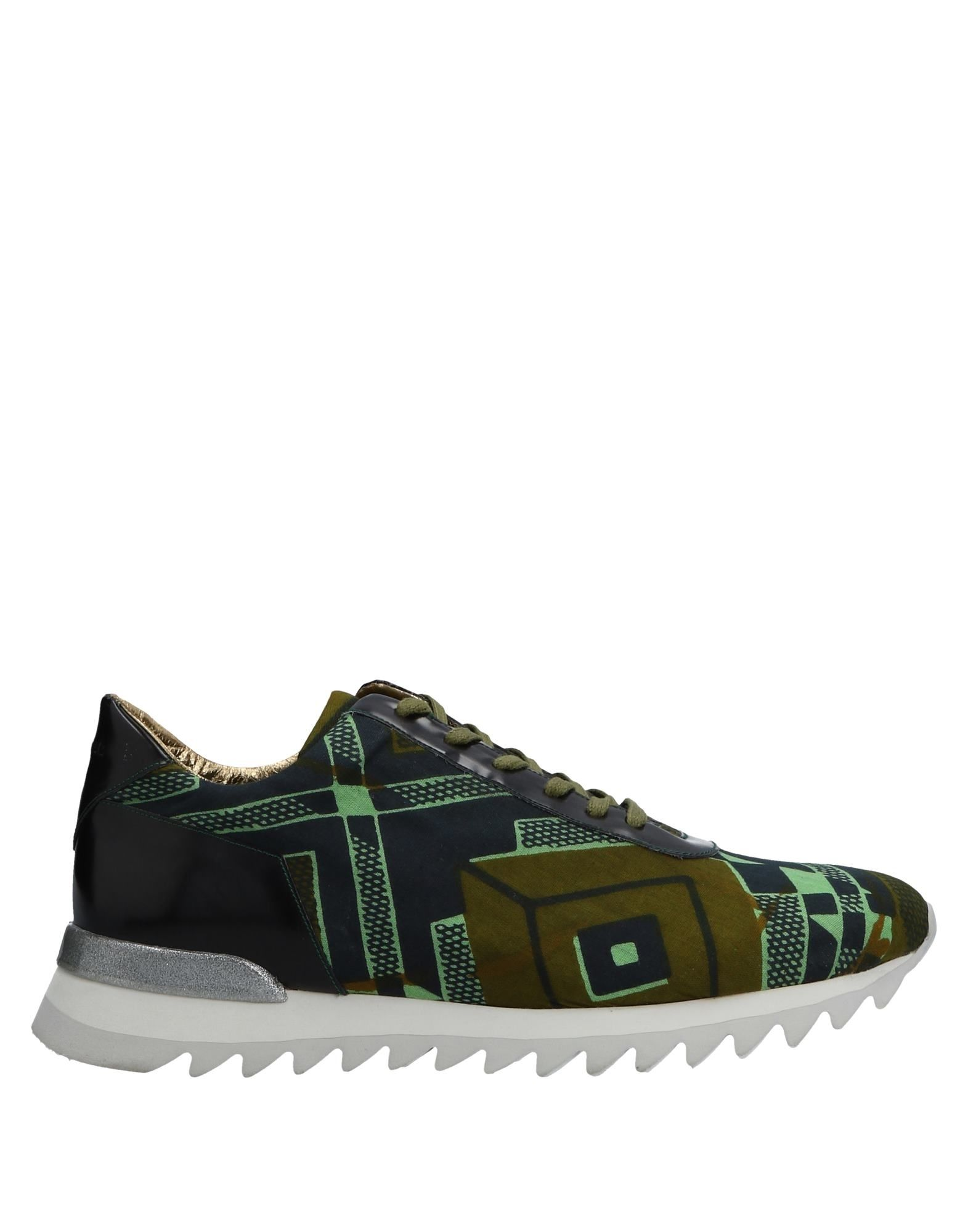 Sneakers Smeet Homme - Sneakers Smeet  Vert militaire Mode pas cher et belle