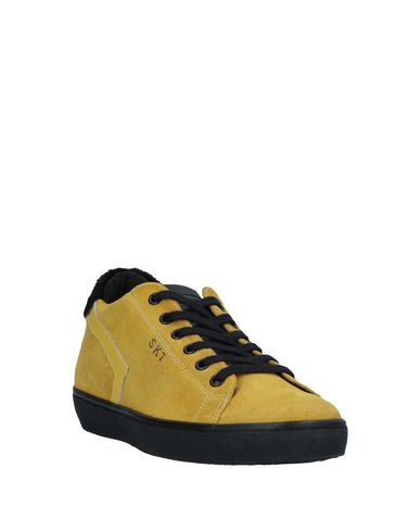 Crown Leather Leather Crown Leather Sneakers Jaune Crown Sneakers Jaune Jaune Sneakers rr1nO7Ydqx