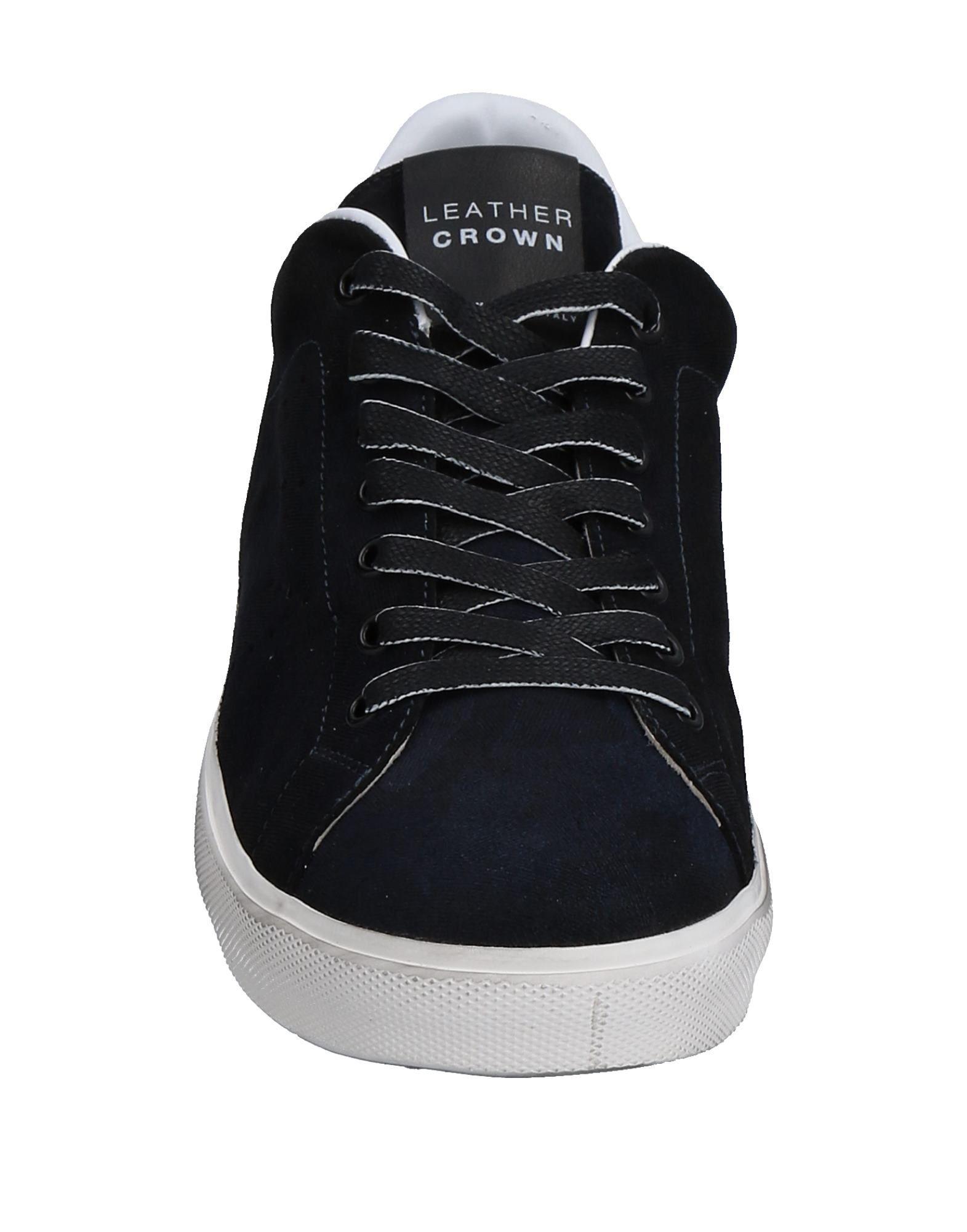 Leder es Crown Sneakers Herren Gutes Preis-Leistungs-Verhältnis, es Leder lohnt sich b72bb4