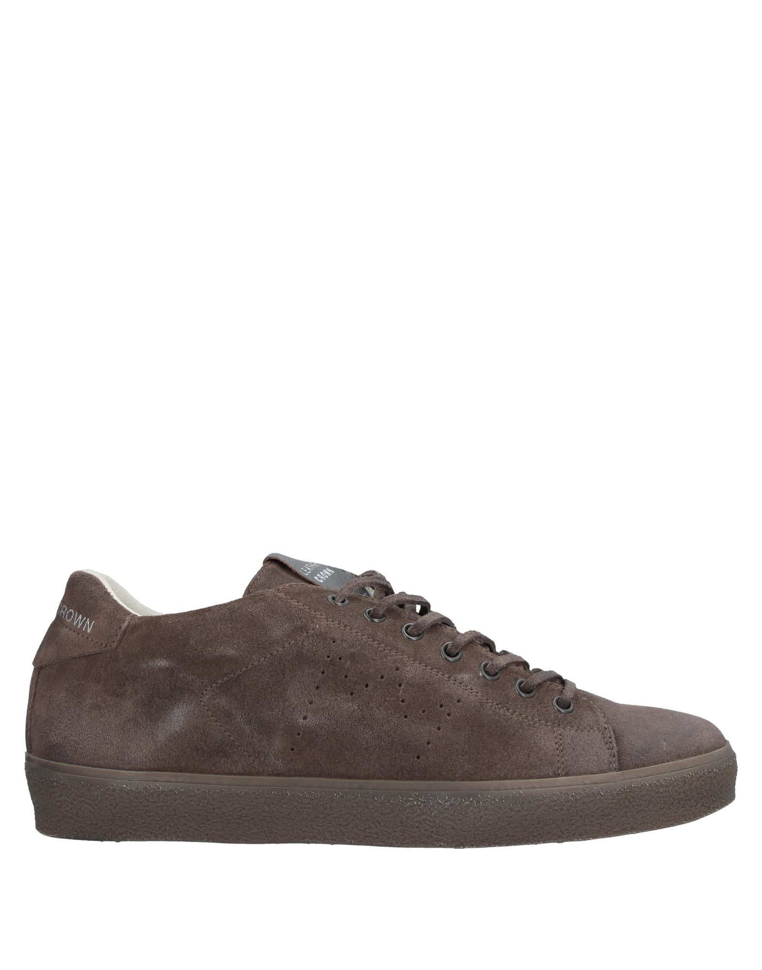 Sneakers Leather Crown Uomo - 11532015EJ