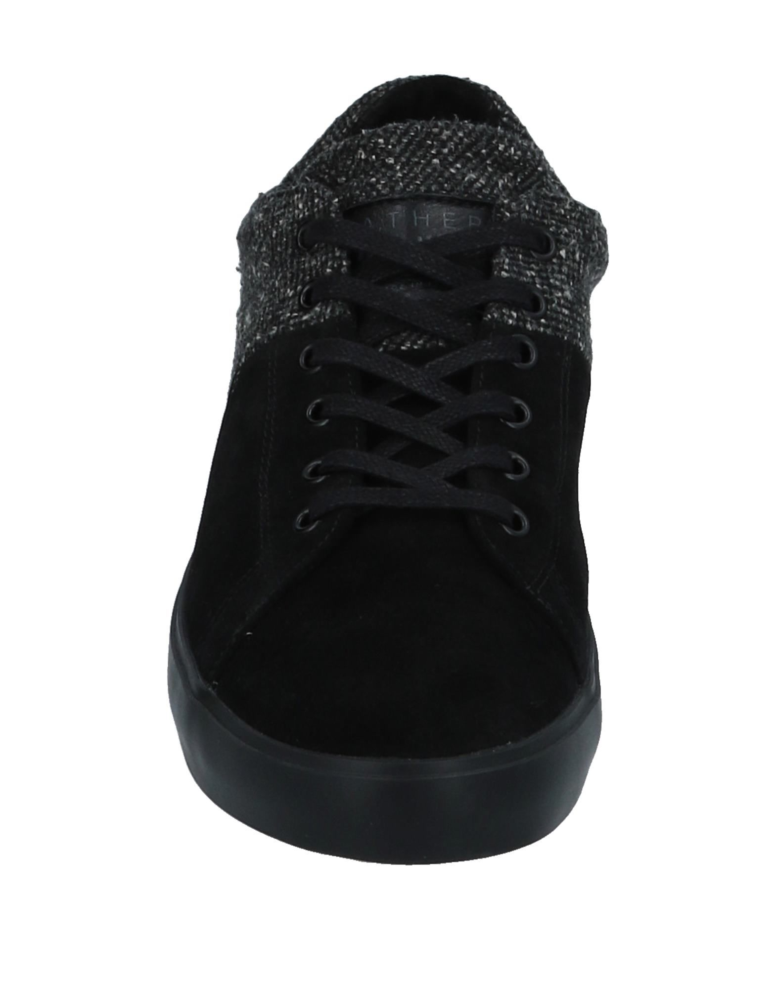 Leather Crown  Sneakers Herren  Crown 11532046RC 422cba