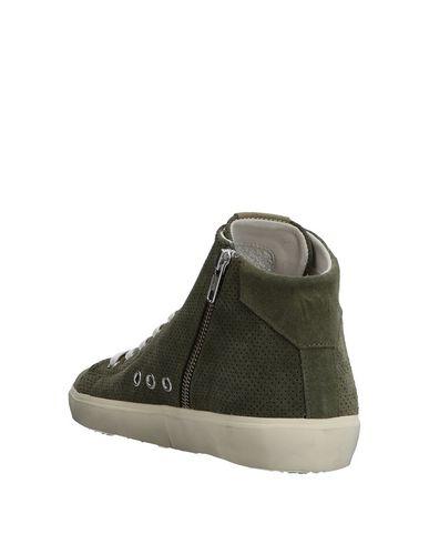 Vert Leather Crown Sneakers Vert Leather Vert Militaire Militaire Militaire Leather Sneakers Sneakers Crown Crown qSwZHZT