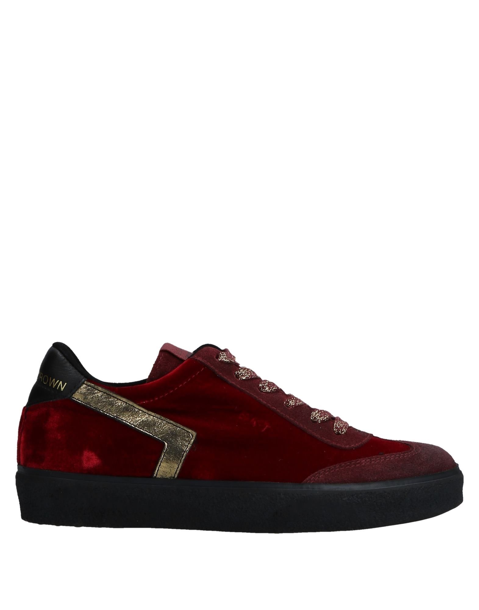 Gut um billige Schuhe zu tragenLeather Crown Sneakers Damen  11532149QK