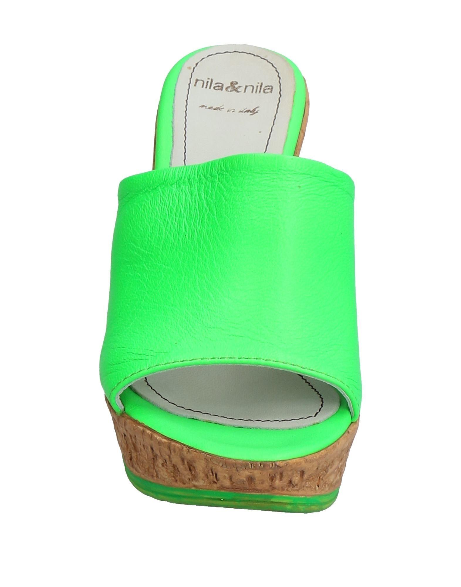 Nila  & Nila Pantoletten Damen  Nila 11532438SW Gute Qualität beliebte Schuhe 4ca5d1