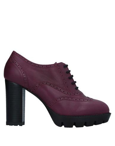 Zapato De Mujer Cordones Eliana Bucci Mujer De - Zapatos De Cordones Eliana Bucci - 11532653HD Malva 5b00c5