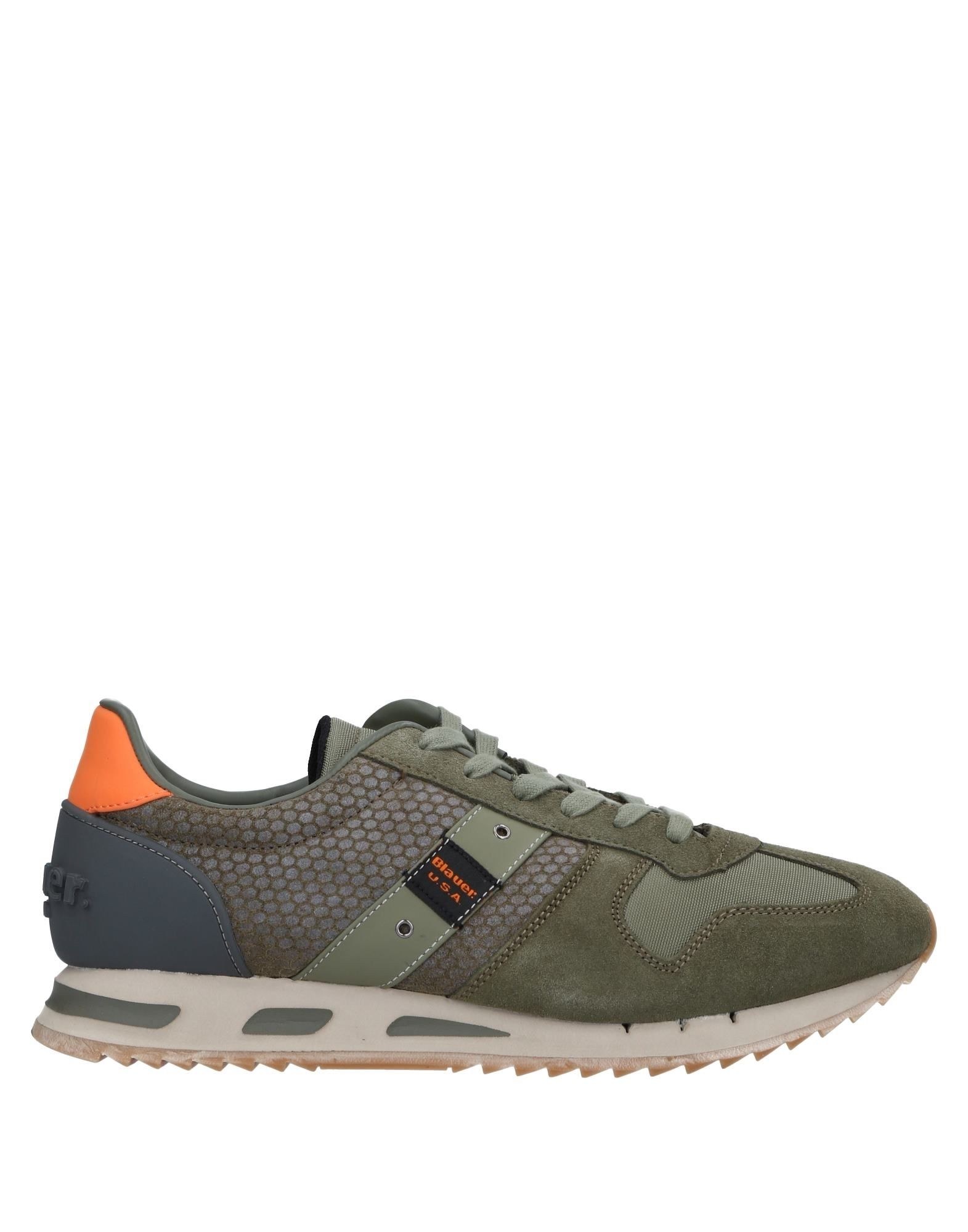 Rabatt echte Schuhe Blauer Sneakers Herren  11533379AN