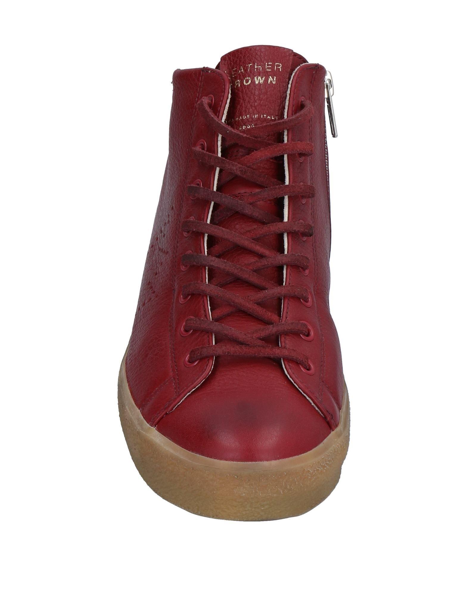 Stilvolle Stilvolle Stilvolle billige Schuhe Leather Crown Sneakers Damen  11533448RC 8fdccb