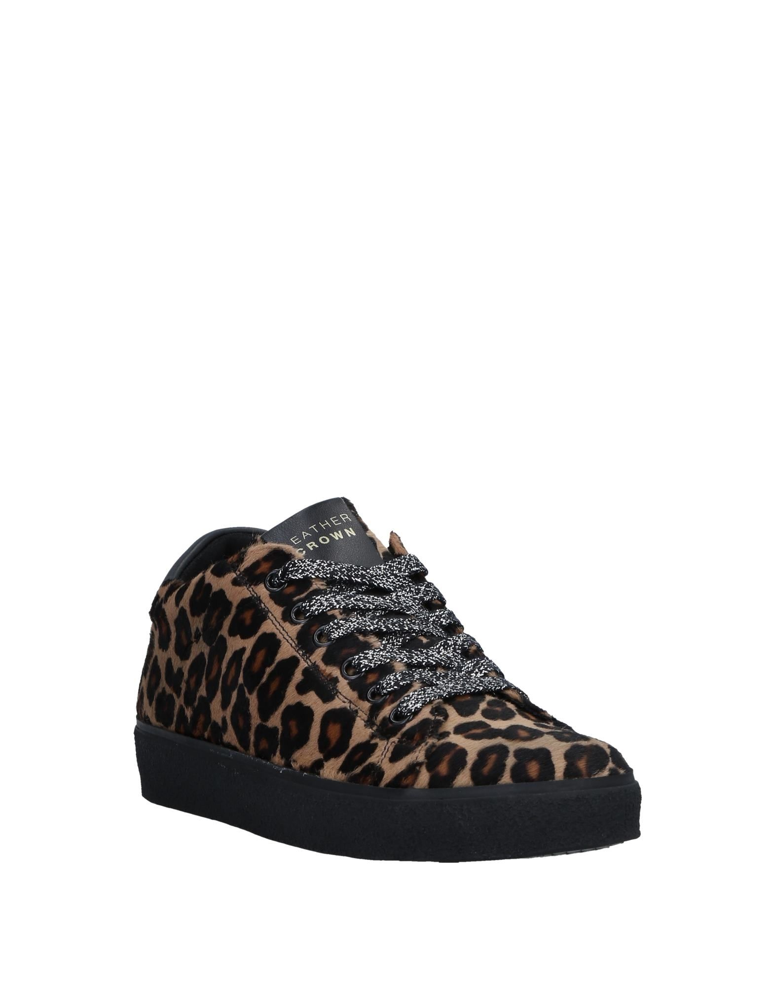 Leather Crown Sneakers strapazierfähige Damen  11533461JVGut aussehende strapazierfähige Sneakers Schuhe 05e2fc