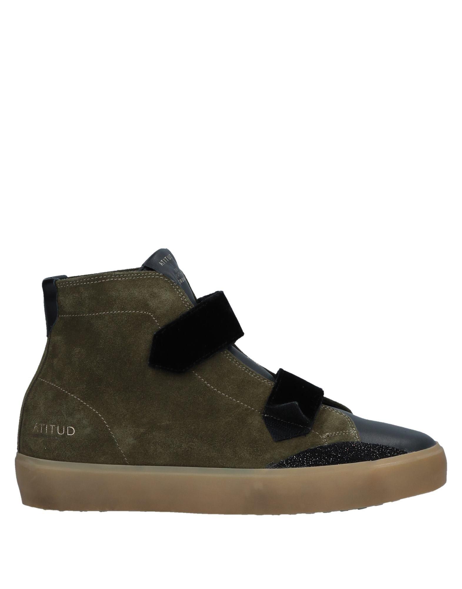 Stilvolle billige Schuhe Leather Crown Sneakers Damen  11533464PK