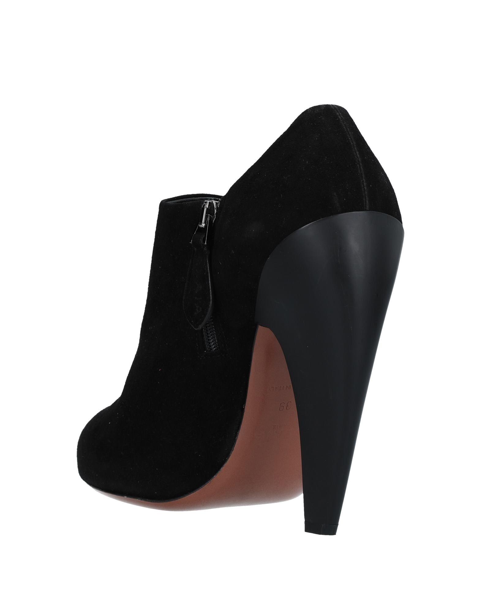 Alaïa Stiefelette aussehende Damen  11533474NGGünstige gut aussehende Stiefelette Schuhe 15a27c