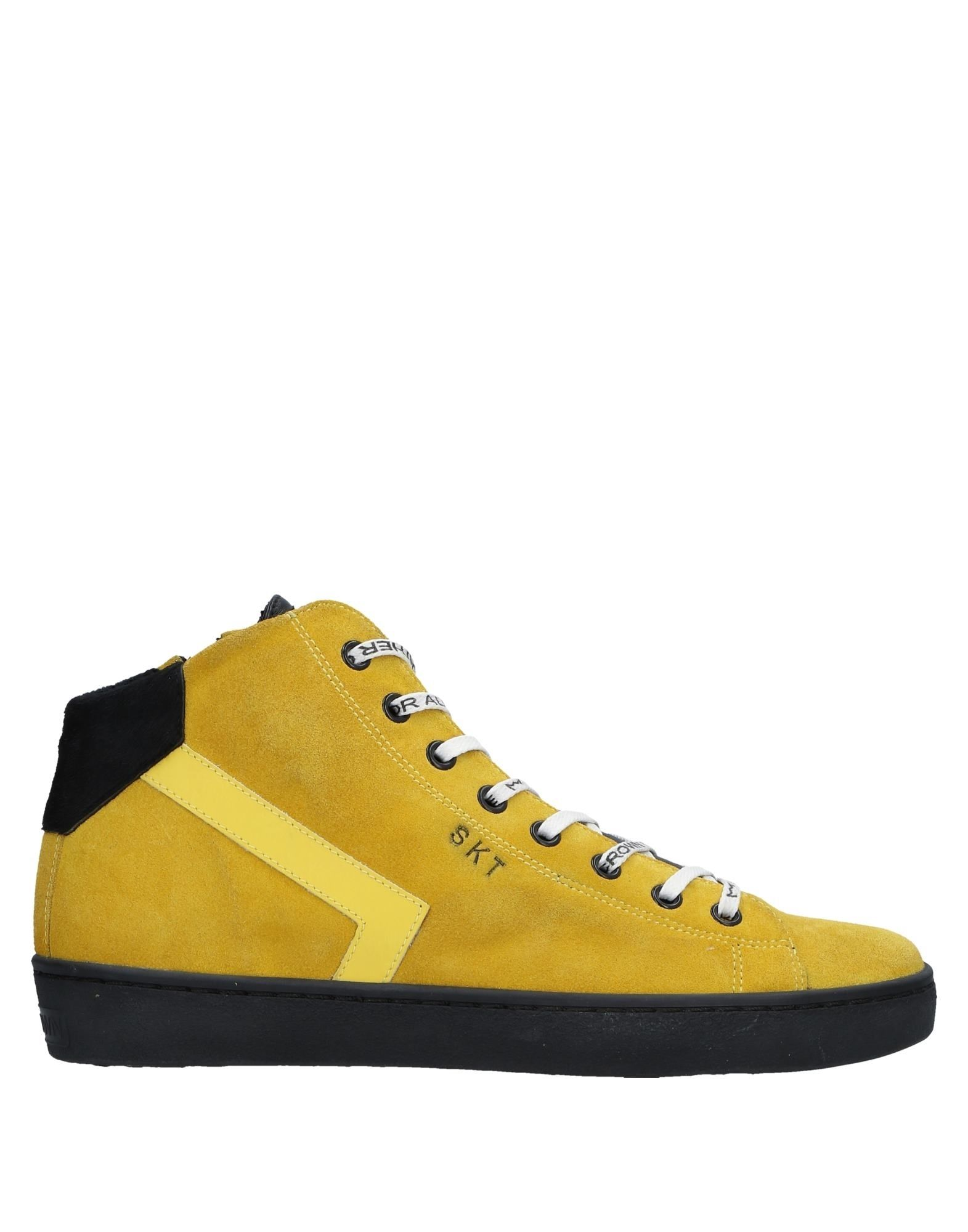Casual salvaje Zapatillas Leather Crown  Mujer - Zapatillas Leather Crown  Crown Amarillo 8a2d7f