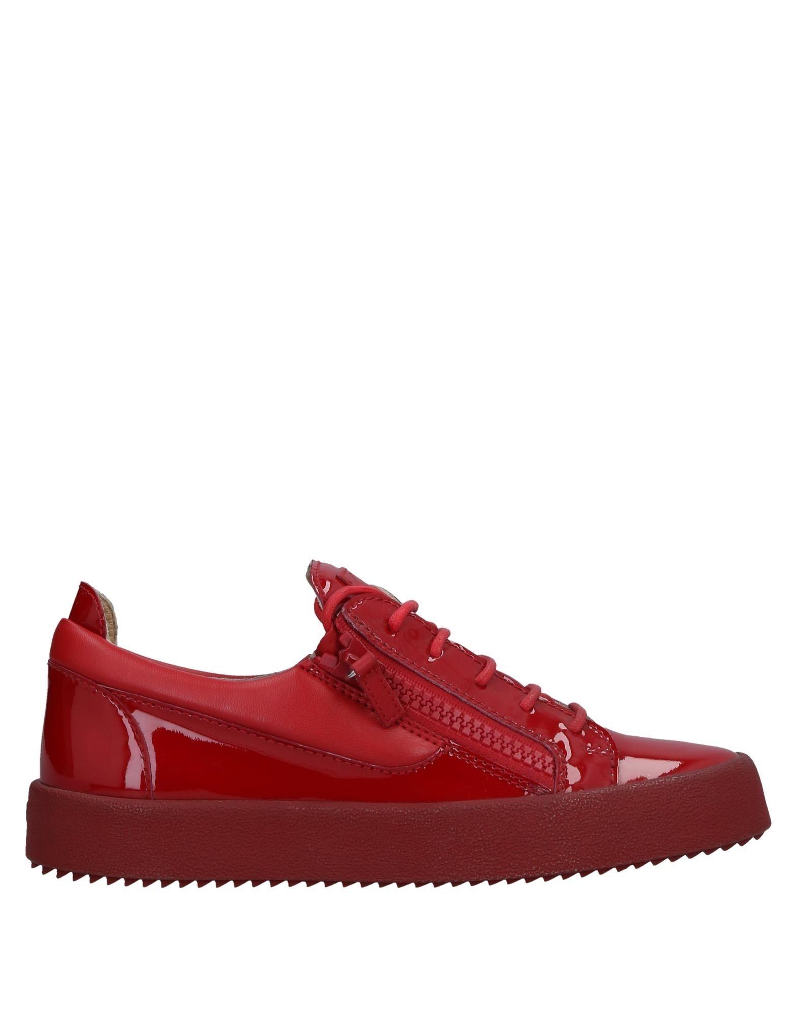 Sneakers Giuseppe Zanotti Homme - Sneakers Giuseppe Zanotti  Rouge Dernières chaussures discount pour hommes et femmes