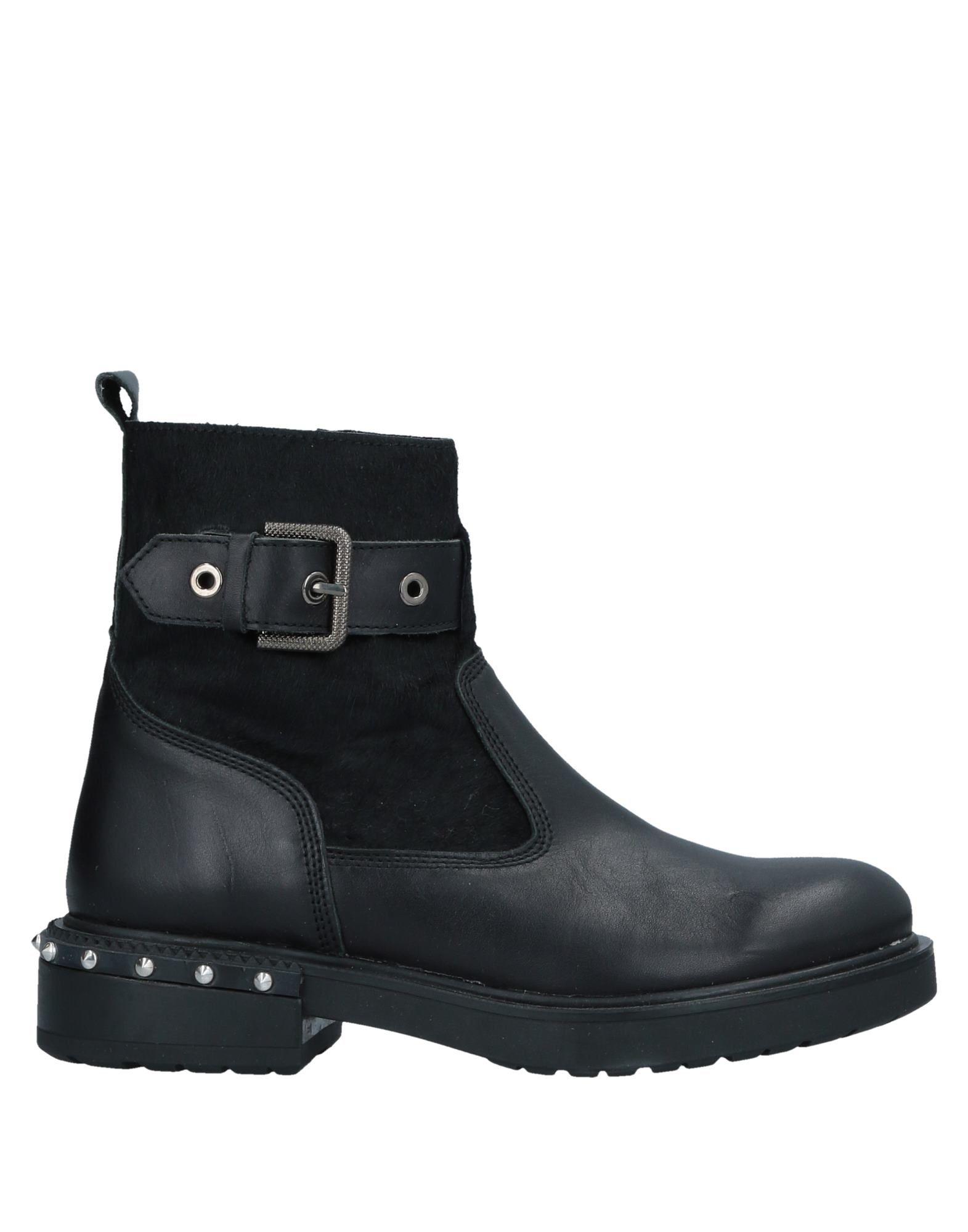 Bottine Kanna Femme - Bottines Kanna Noir Dernières chaussures discount pour hommes et femmes