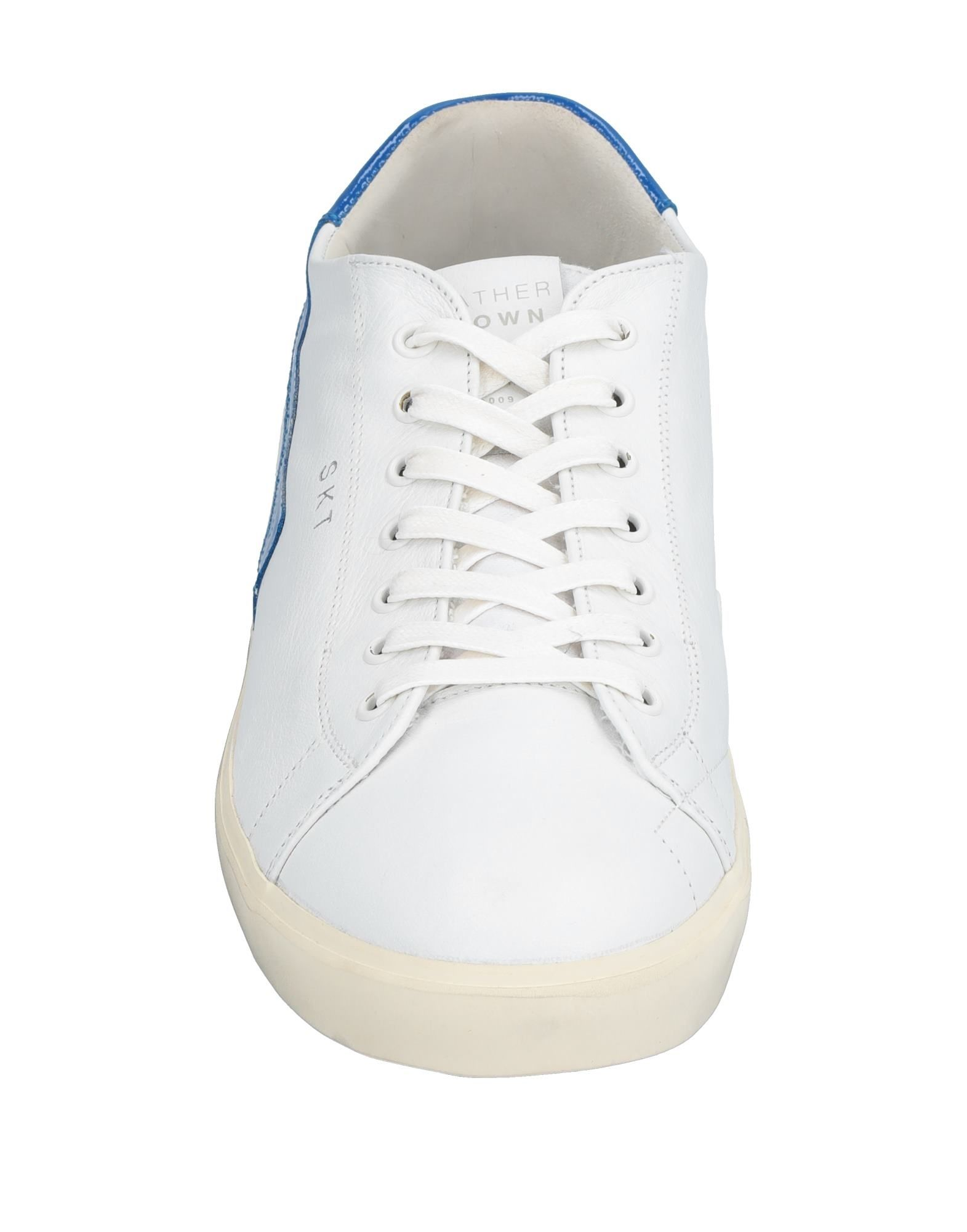 Leather Crown Sneakers Herren Herren Sneakers  11533852TU f3e0d1