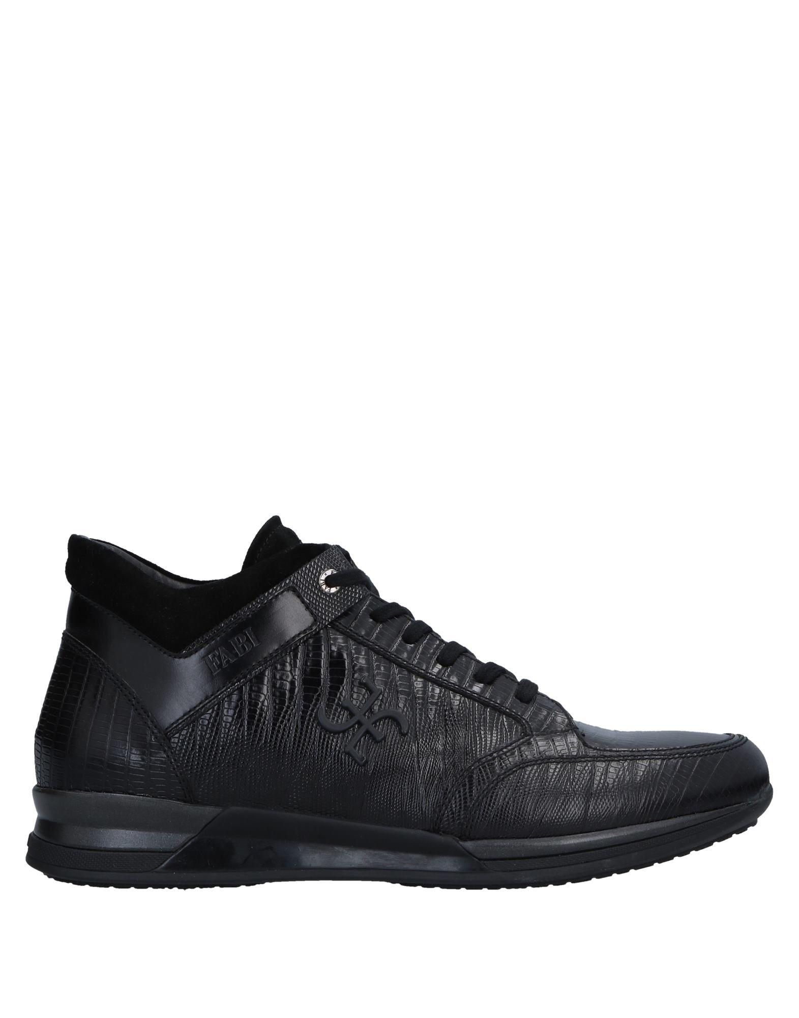 Sneakers Fabi Homme - Sneakers Fabi  Noir Meilleur modèle de vente