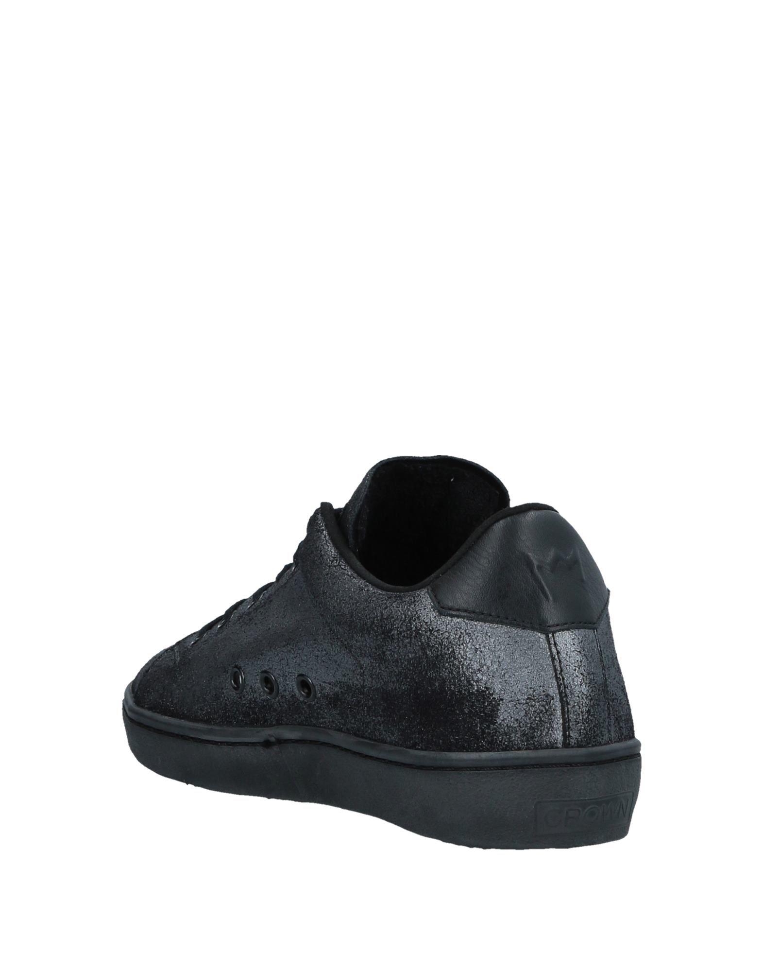 Leather Crown  Sneakers Damen  Crown 11534901BL Neue Schuhe 985ee0