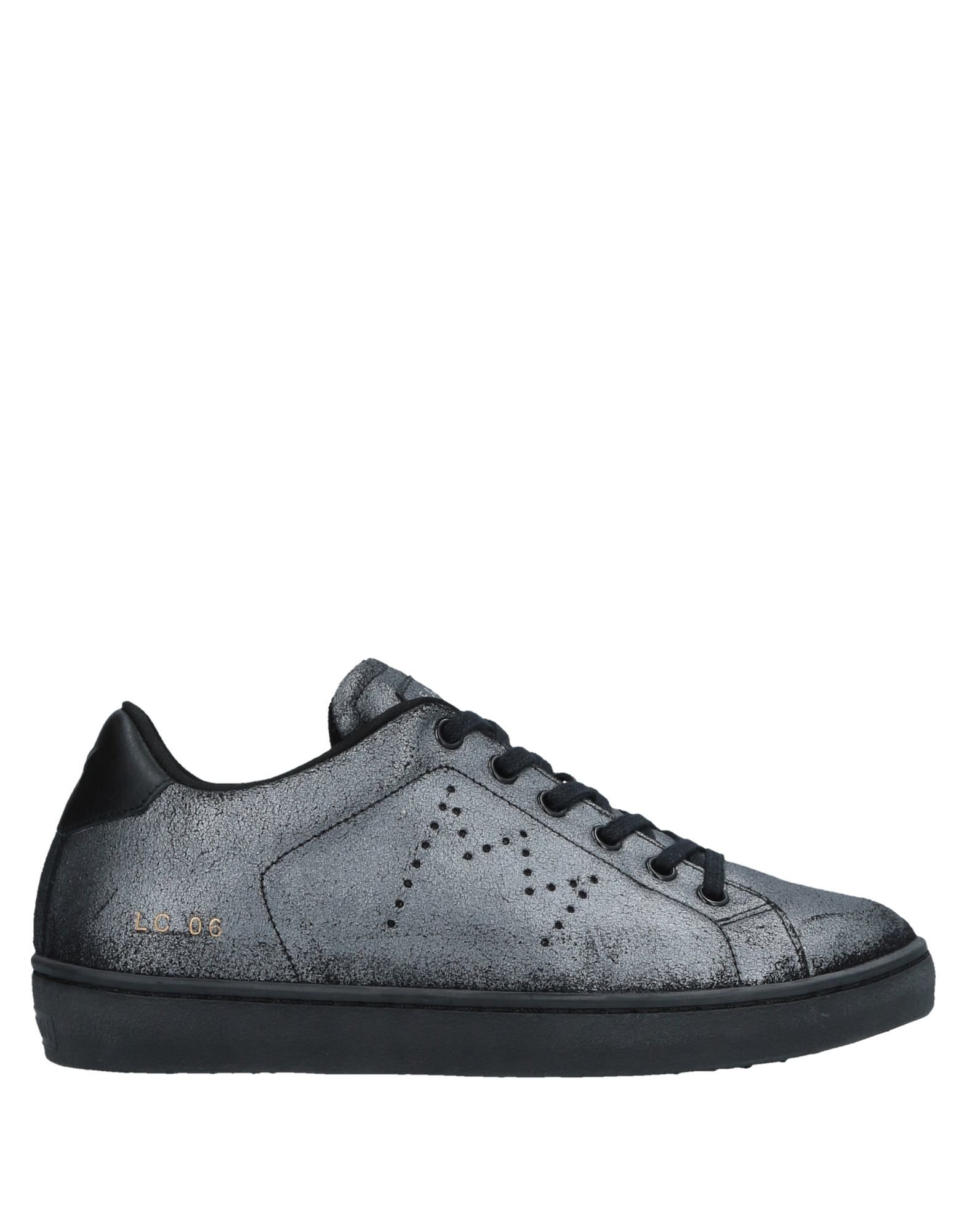 Sneakers Leather Crown Donna - 11534901BL