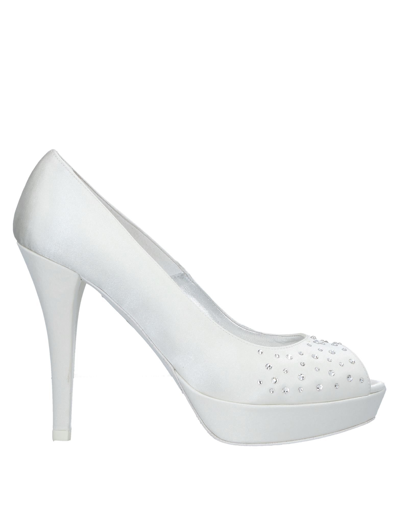 Venta de liquidación de temporada Zapato De By Salón Thulle® By De Melluso Mujer - Salones Thulle® By Melluso  Blanco 502937