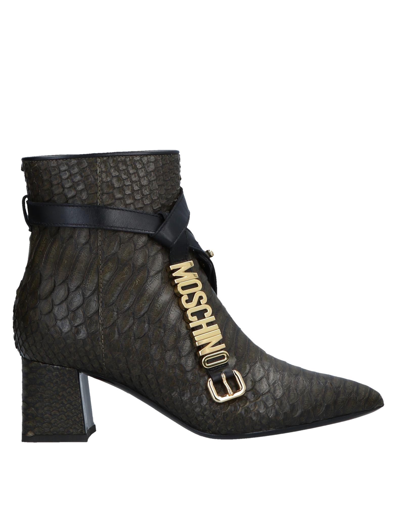 Moschino Stiefelette aussehende Damen  11535830JSGünstige gut aussehende Stiefelette Schuhe cbae2c