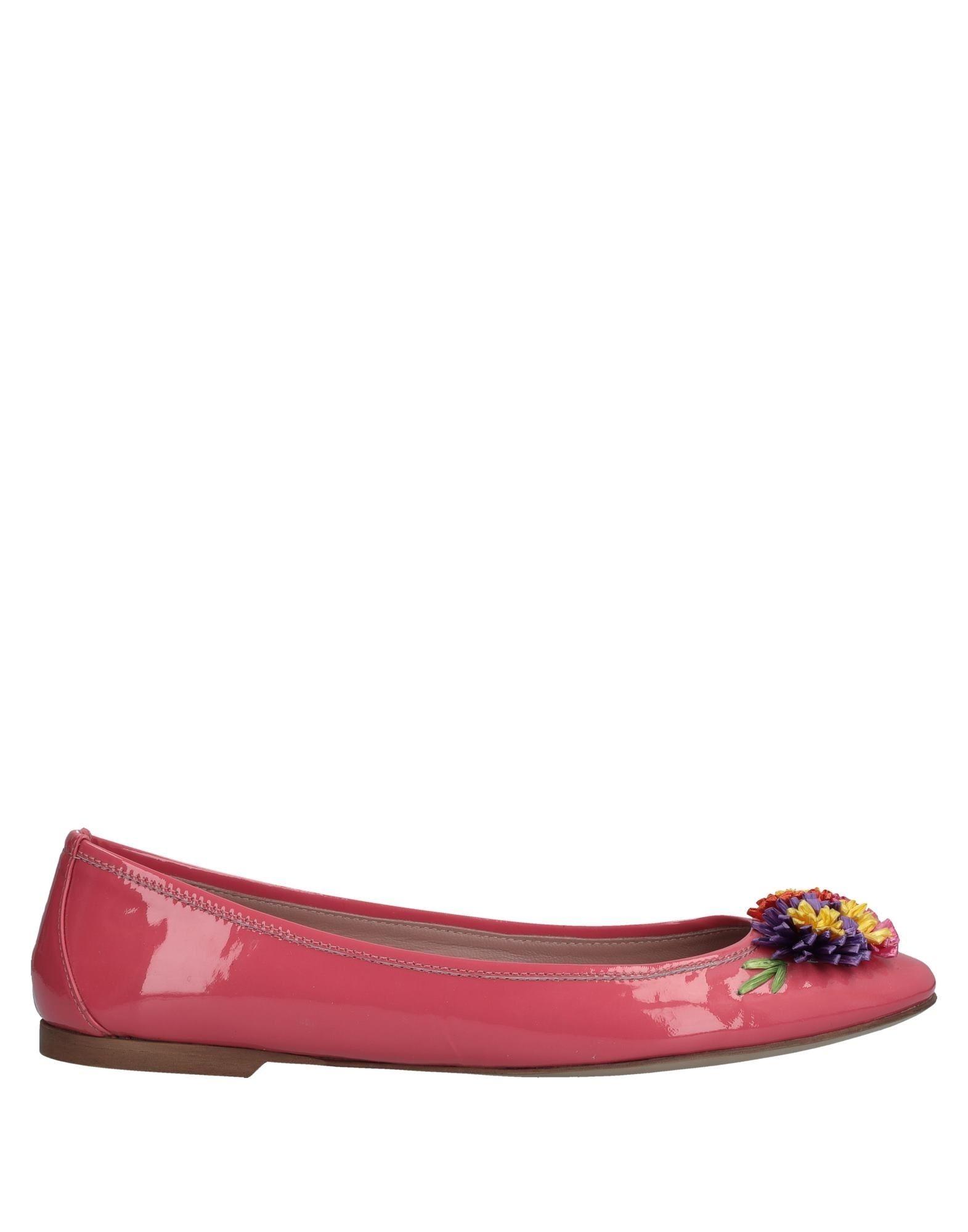 Haltbare Mode billige Schuhe Red Ballerinas Damen  11535851XF Heiße Schuhe
