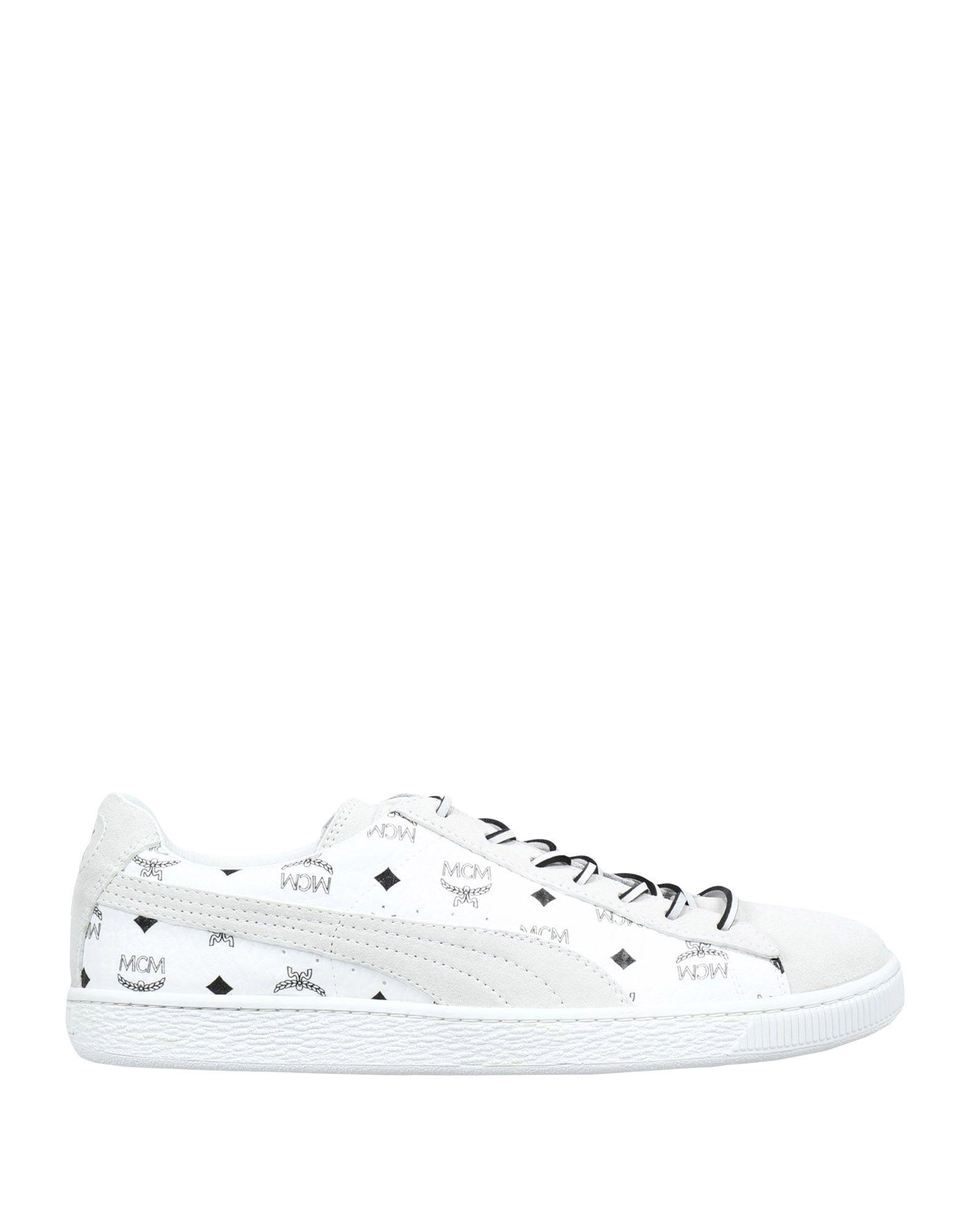 Sneakers Puma X Mcm Suede Classic X Mcm - Homme - Sneakers Puma X Mcm  Blanc Remise de marque