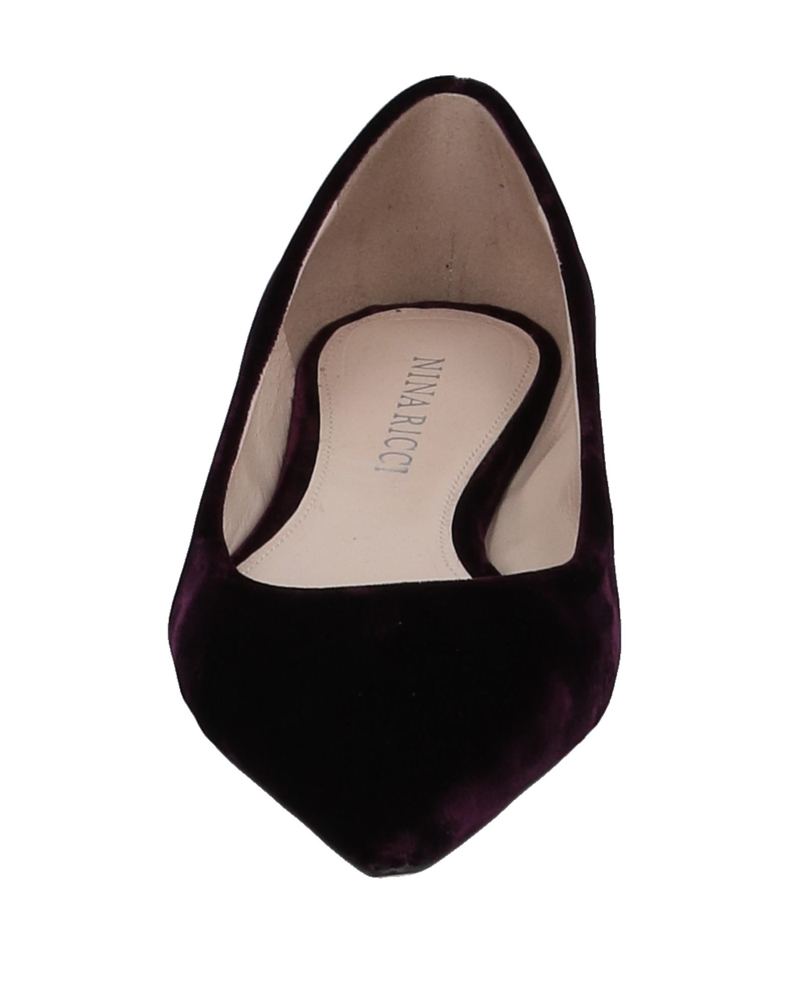 Nina Ricci aussehende Ballerinas Damen  11536272GKGut aussehende Ricci strapazierfähige Schuhe 4e2dc0