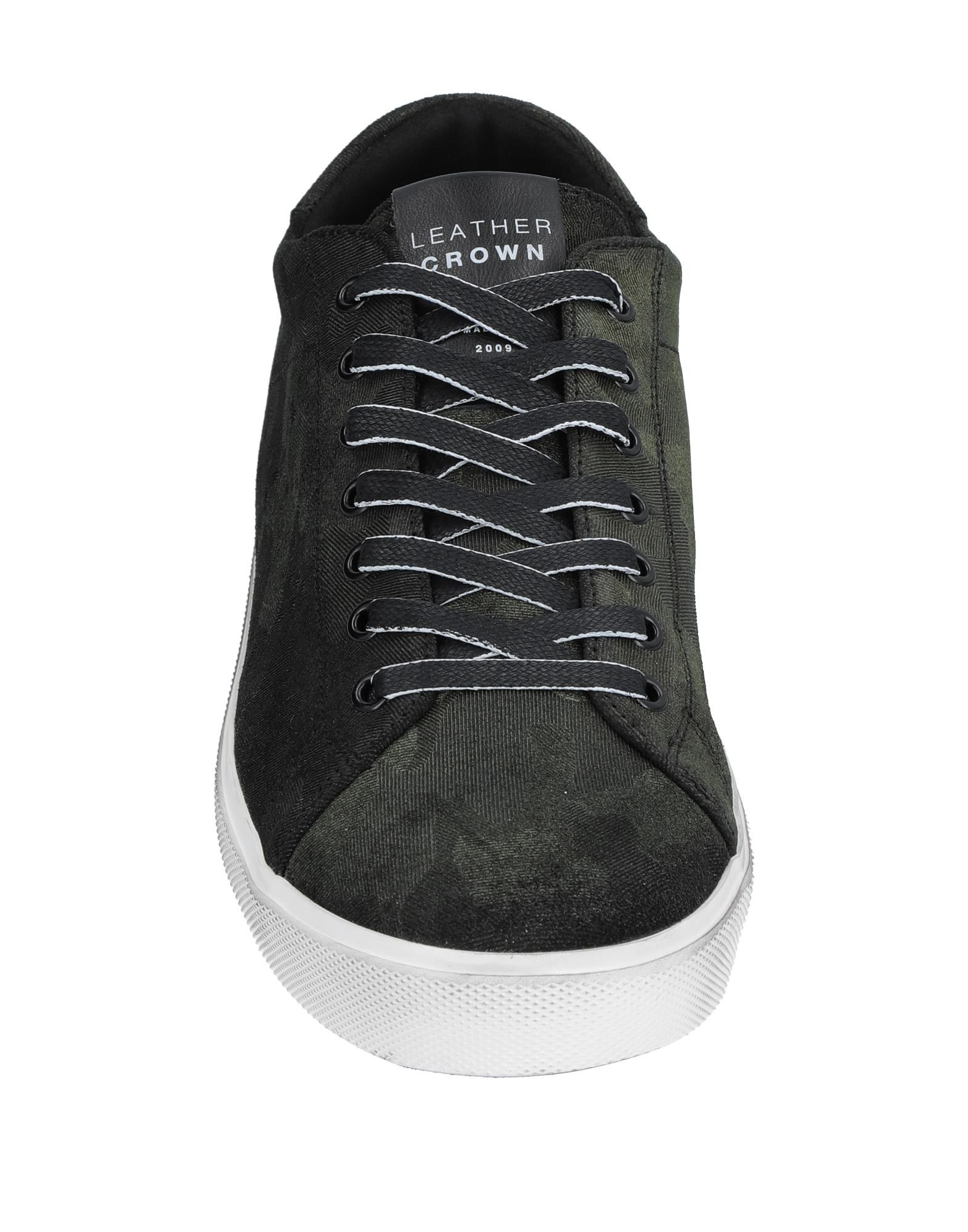 Leather Crown Sneakers - Men Leather Leather Leather Crown Sneakers online on  Australia - 11536383FJ 92e7bc