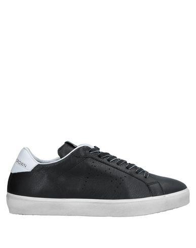 Zapatos cómodos y versátiles Zapatillas Zapatillas Leather Crown Hombre - Zapatillas Zapatillas Leather Crown - 11536392BP Negro 83f7fb