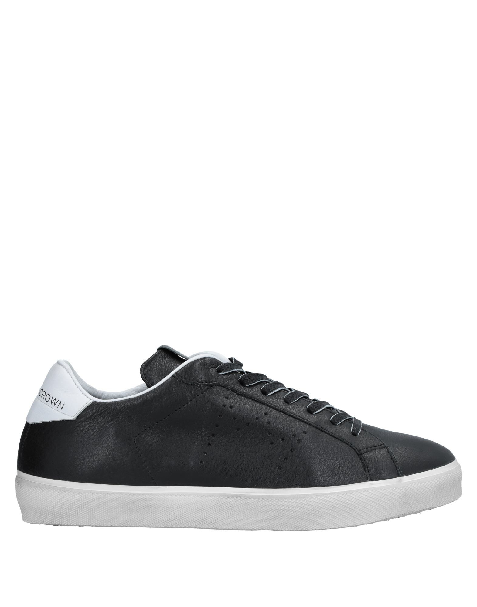 Sneakers Leather Crown Uomo - 11536392BP