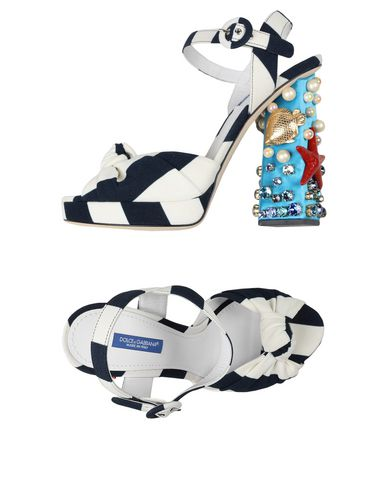 Gabbana Dolce amp; Dolce amp; Sandales Sandales Dolce Bleu Gabbana Bleu amp; wfp84gfZ