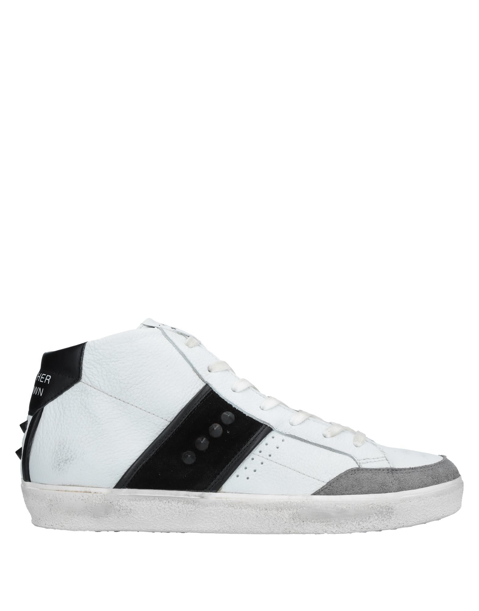Sneakers Leather Crown Uomo - 11536653UR