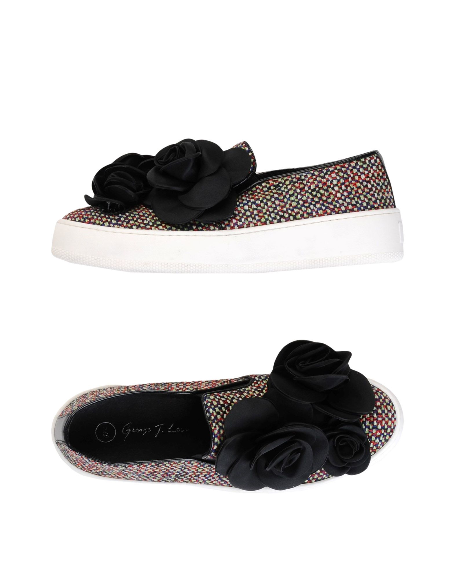 Baskets George J. Love Femme - Baskets George J. Love Rouge Chaussures casual sauvages