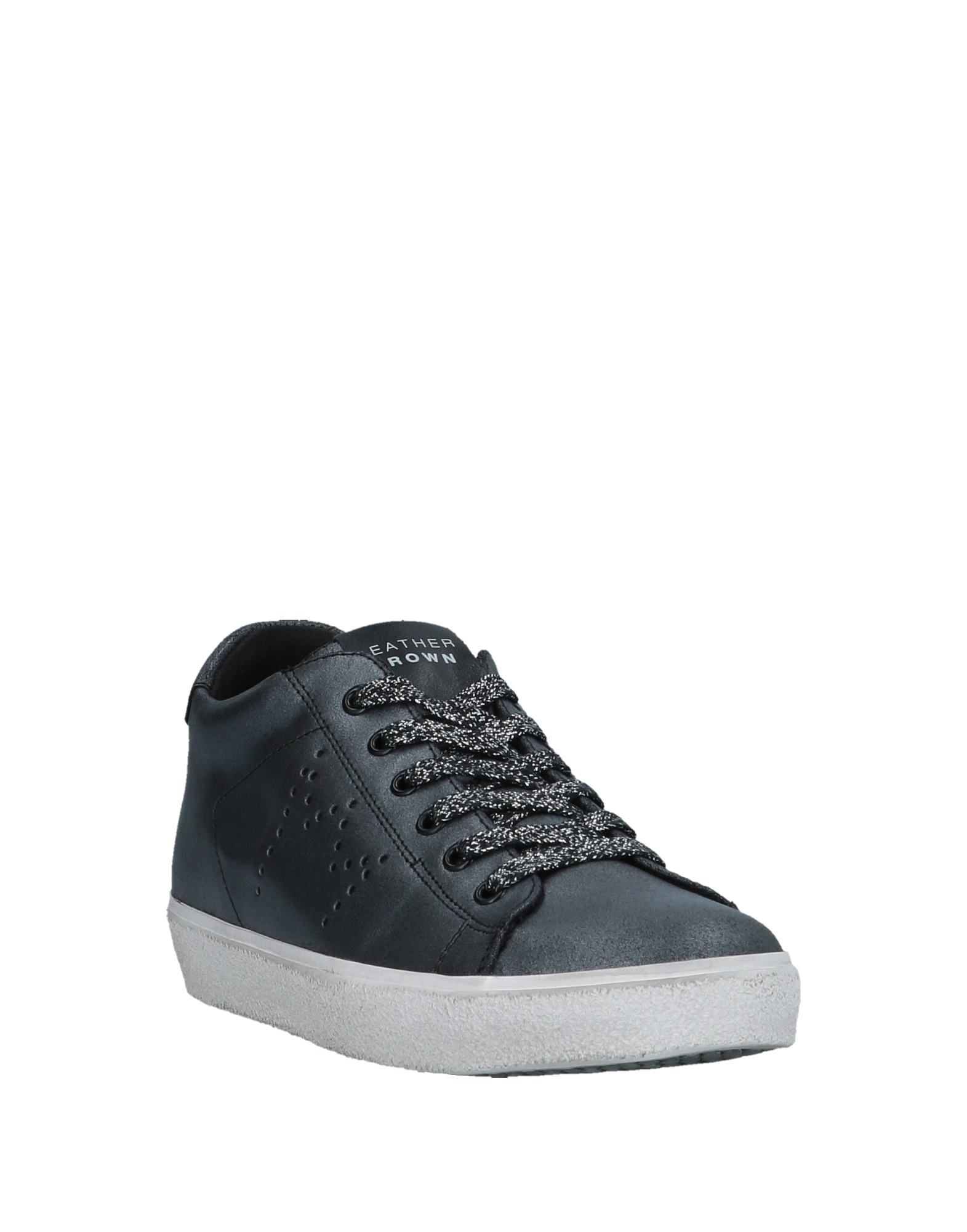 Sneakers Leather Crown Donna - 11536684XI