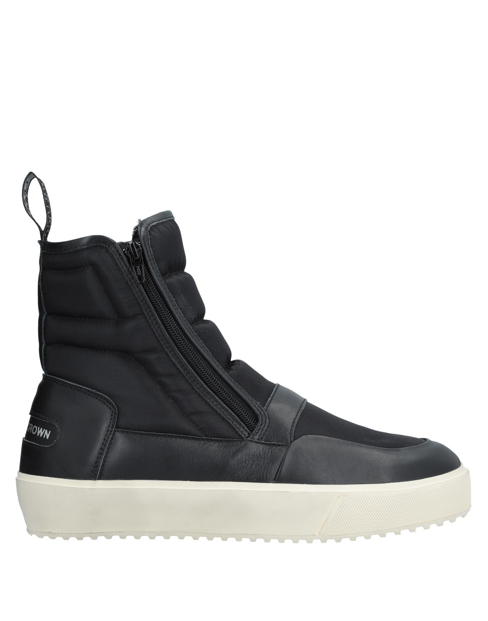 Leather Crown Sneakers Herren  11536690PS