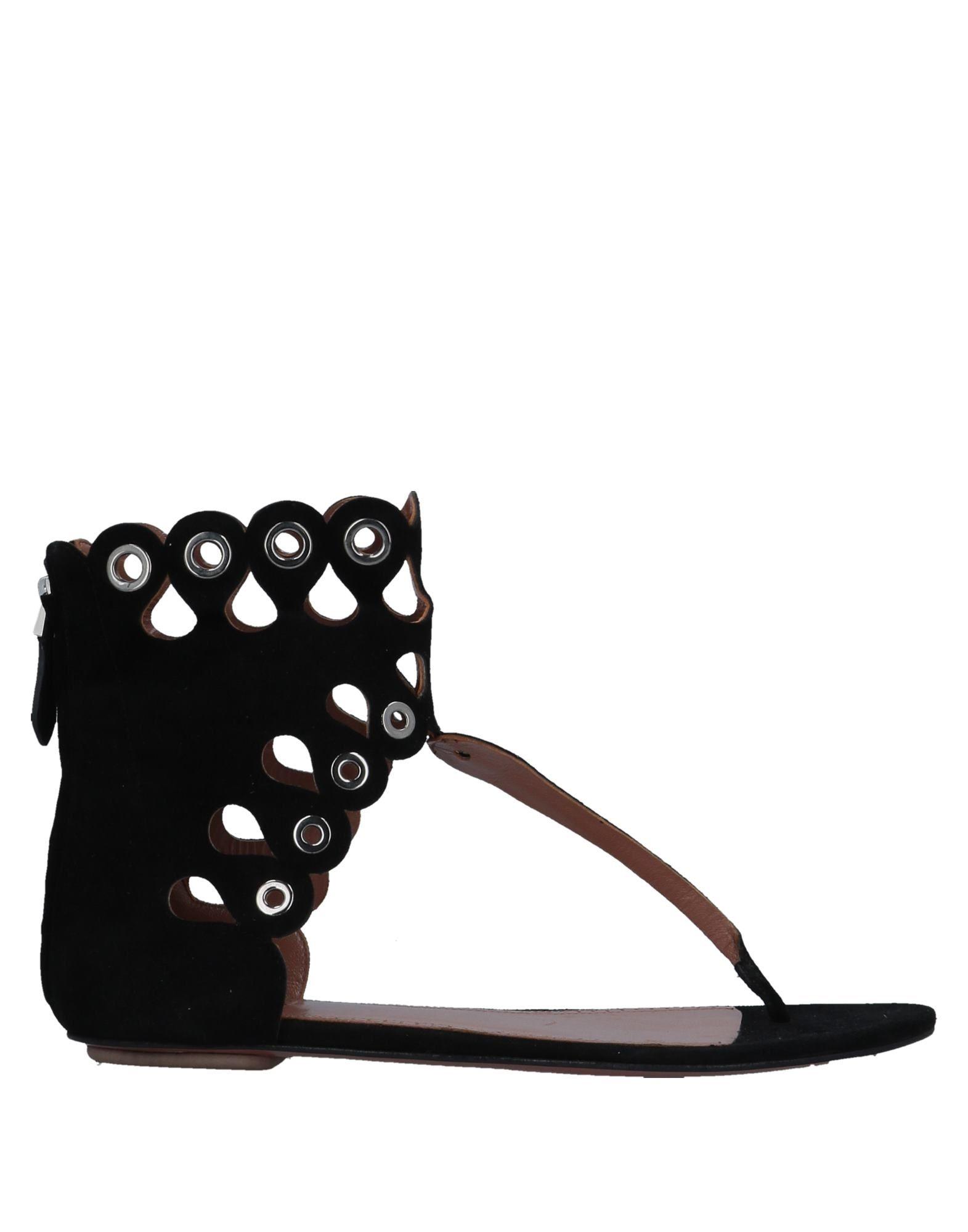 Alaïa Flip Flops Flops - Women Alaïa Flip Flops Flops online on  United Kingdom - 11536753GF 6e555a