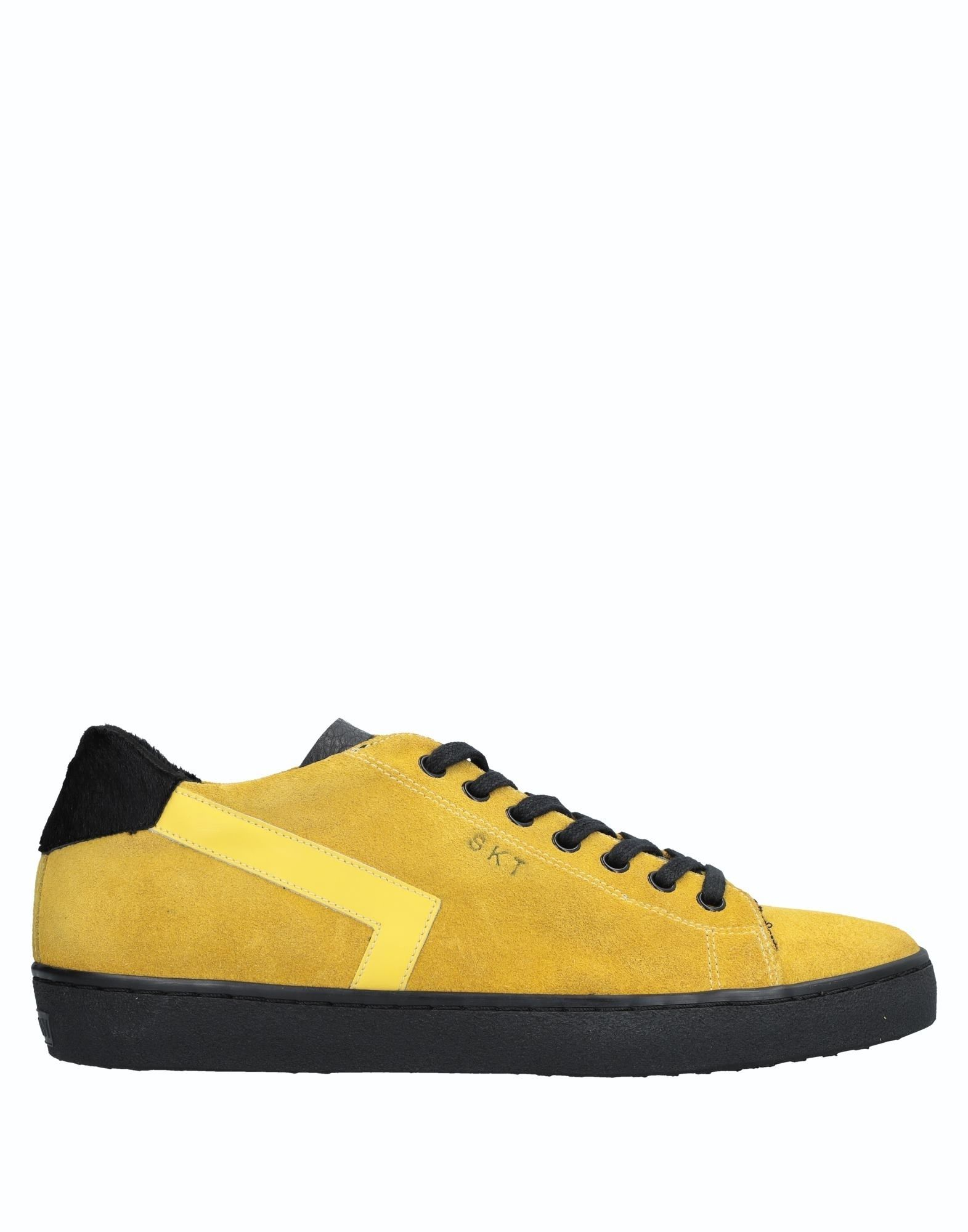 Sneakers Leather Crown Uomo - 11536797TJ