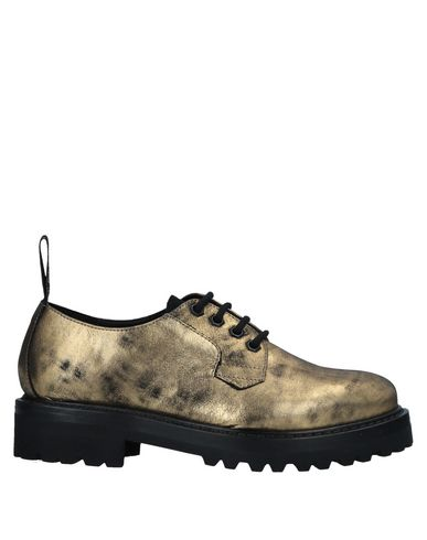 Lacets Crown Chaussures Leather À Or COTaqx