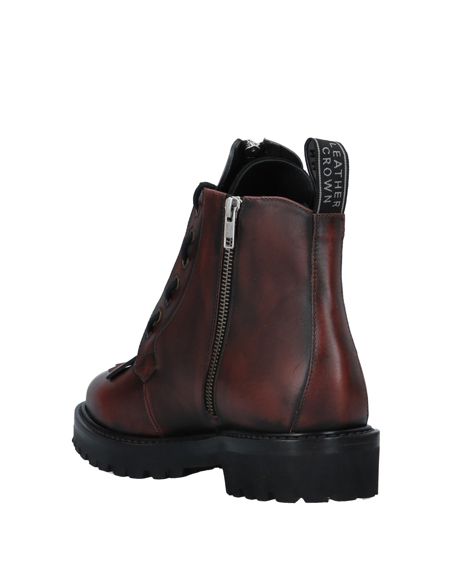 Leather Crown 11536855WN Stiefelette Herren  11536855WN Crown 143d74