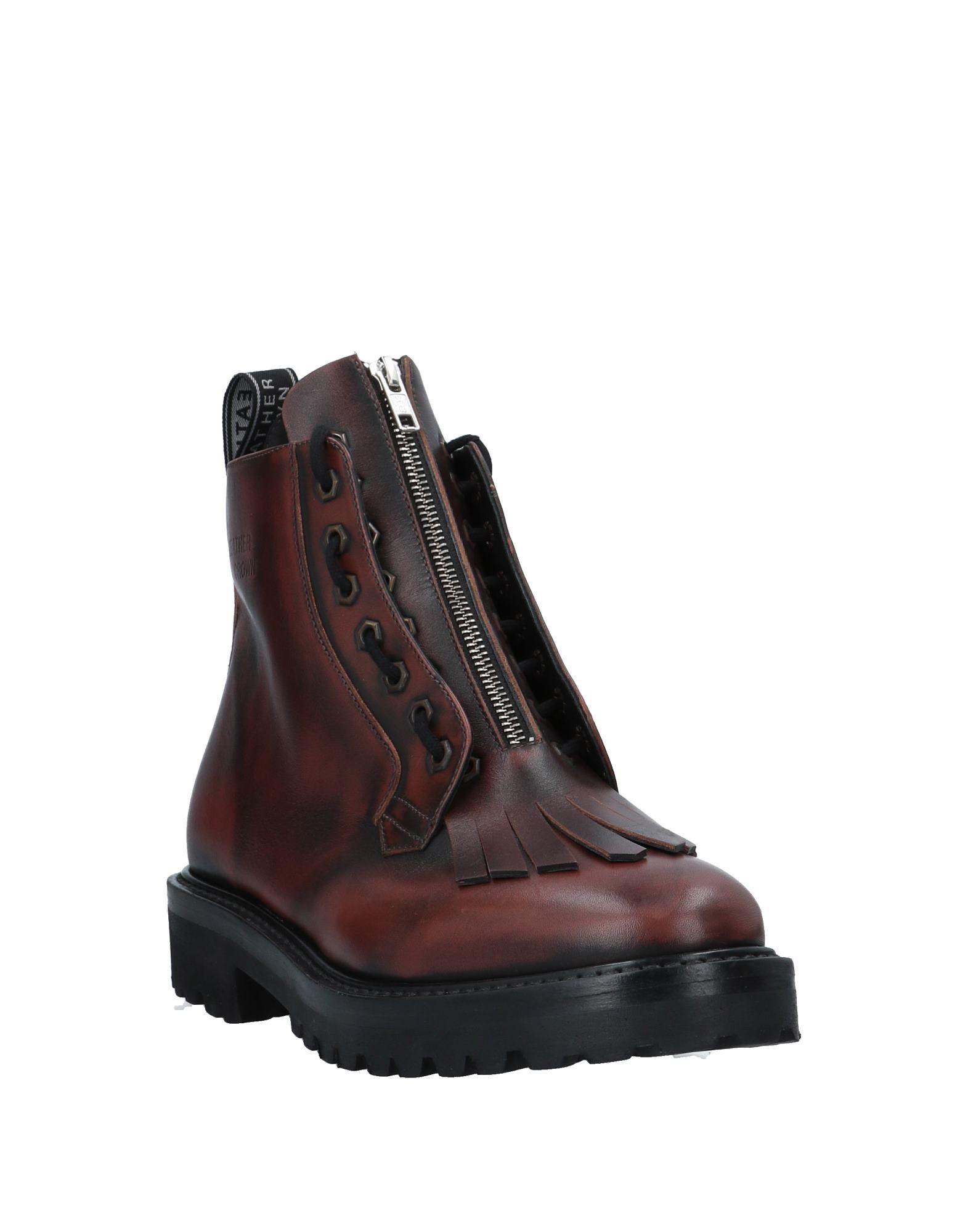 Leather Crown Stiefelette Herren  Schuhe 11536855WN Gute Qualität beliebte Schuhe  385216
