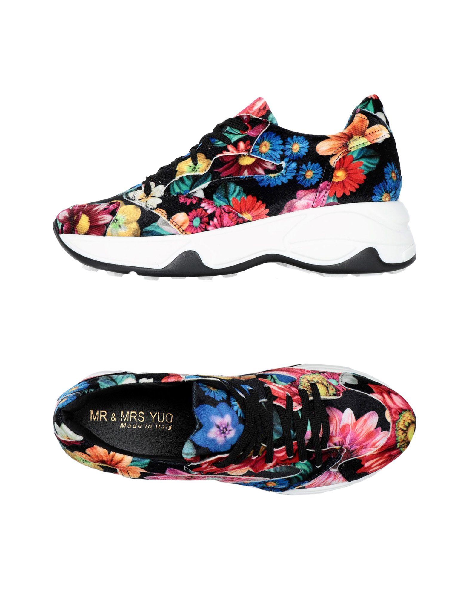 Moda barata y Zapatillas hermosa Zapatillas y Mr & Mrs Yuo Mujer - Zapatillas Mr & Mrs Yuo  Negro c70556