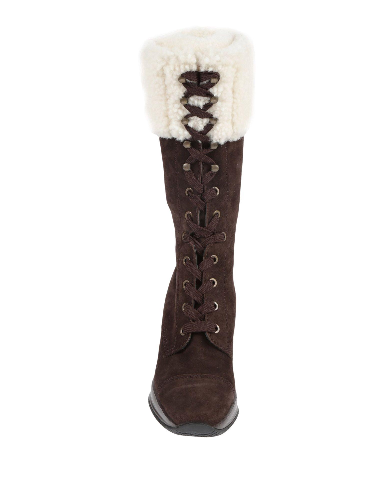 Rabatt Schuhe Hogan Stiefel Damen  11536940CV